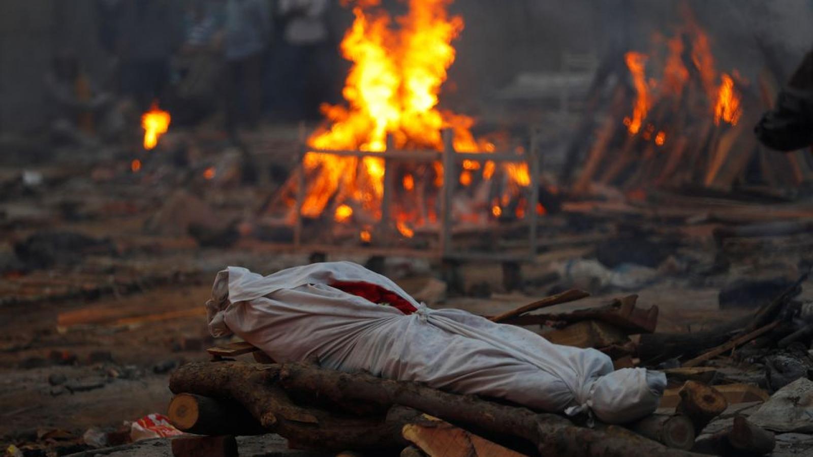 Ấn Độ ghi nhận số ca tử vong vì Covid-19 trong ngày cao nhất từ trước đến nay