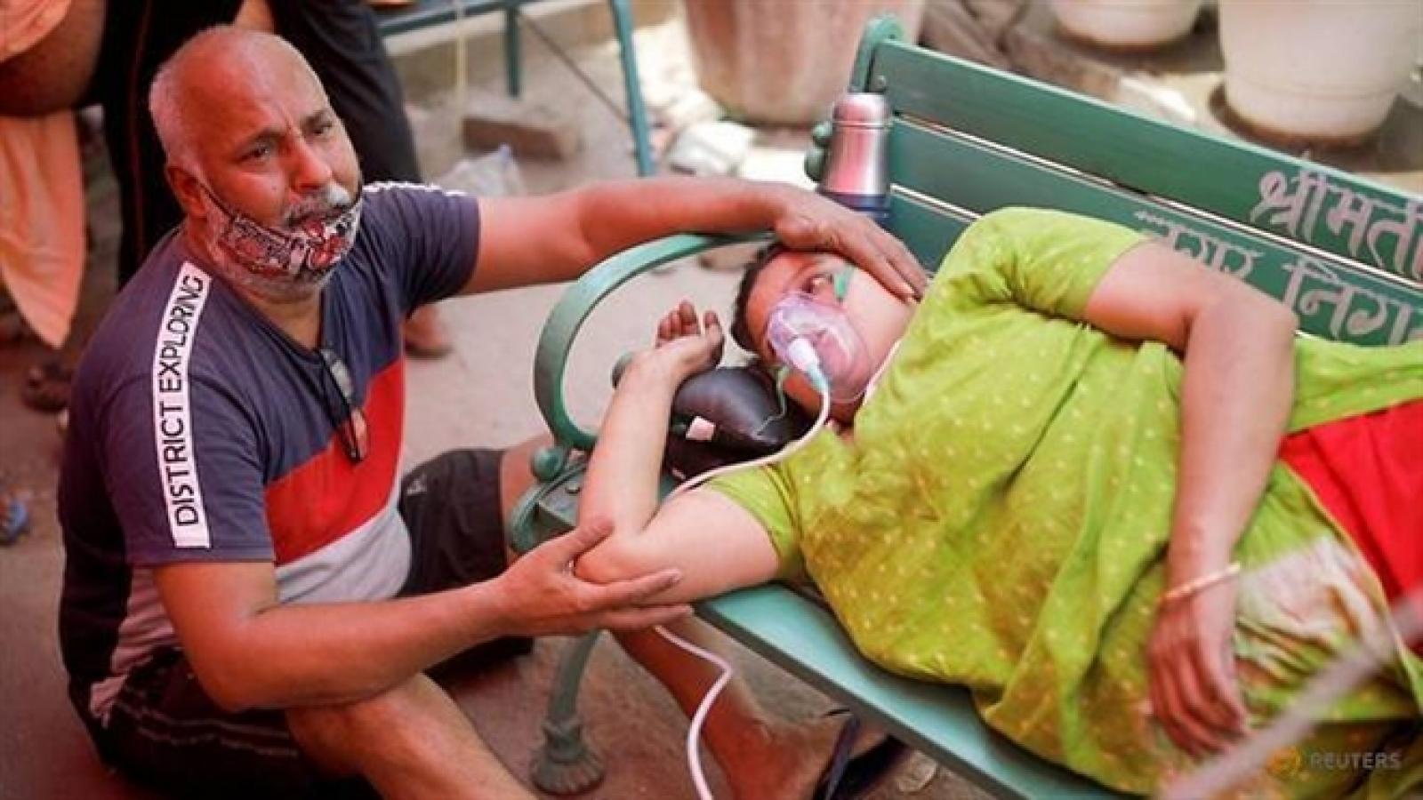 Số ca tử vong vì Covid-19 ở Ấn Độ lập kỷ lục đau buồn mới