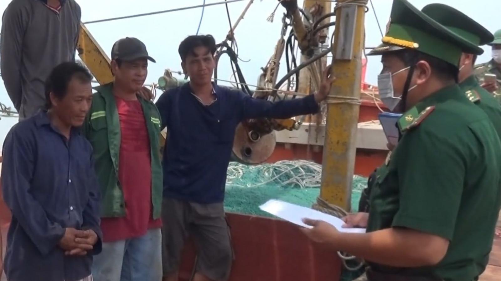 Bộ đội Biên phòng chặn nhập cảnh trái phép bằng đường biển