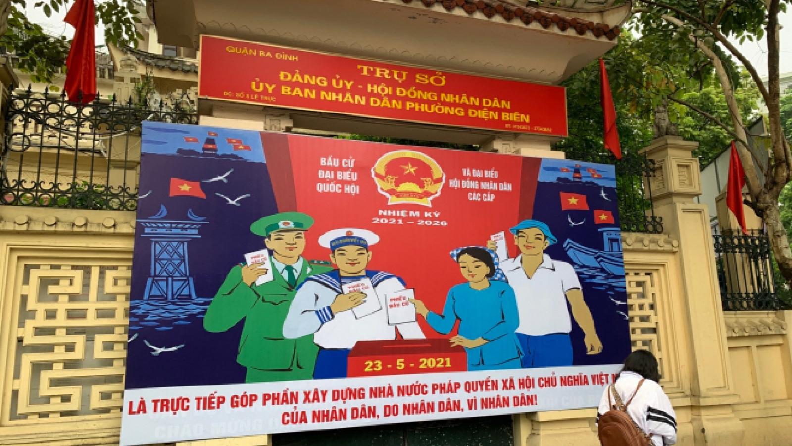 Báo chí quốc tế: Việt Nam bầu cử đúng kế hoạch dù dịch bệnh còn phức tạp