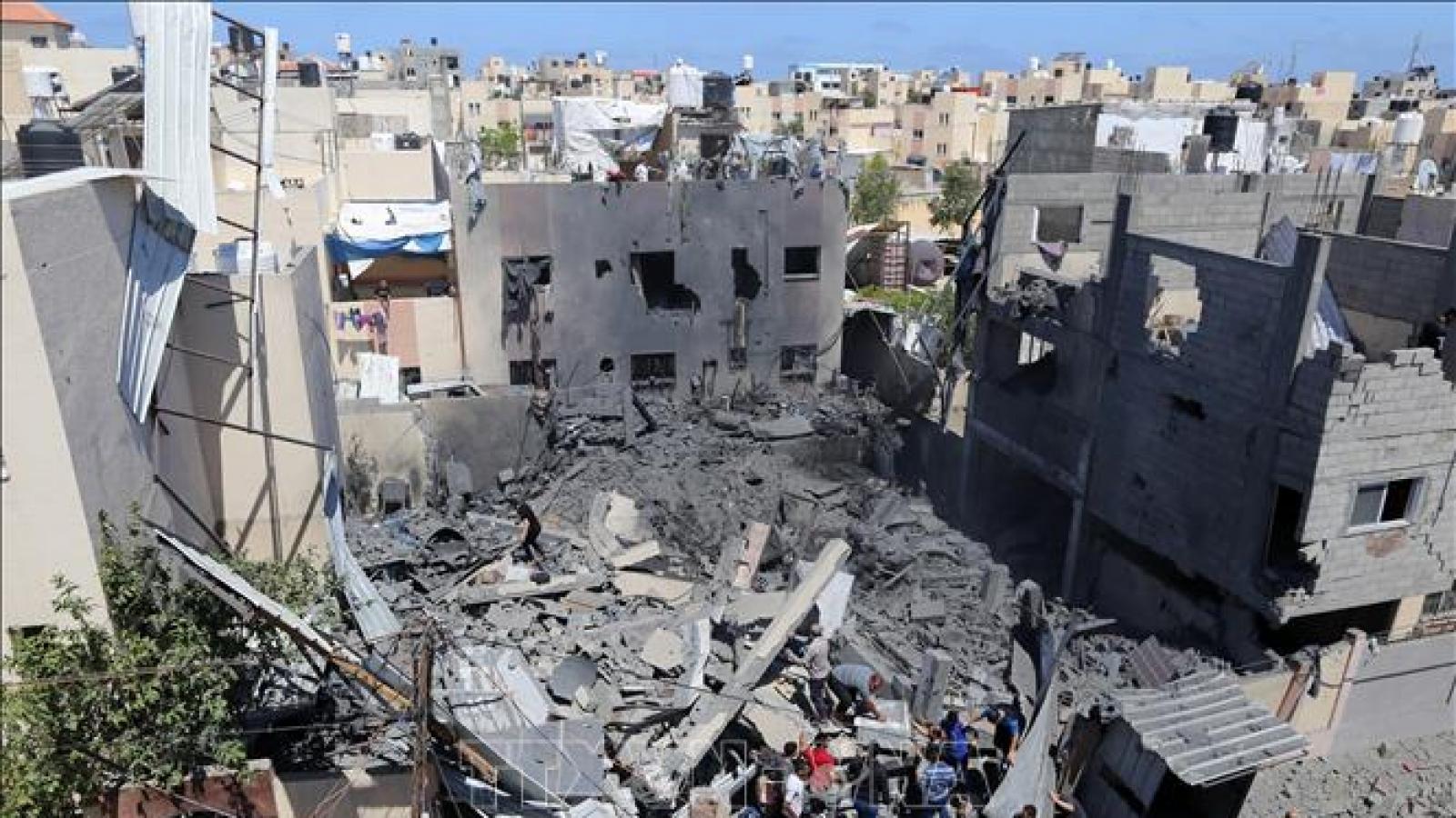Tổng thống Mỹ Biden hoan nghênh lệnh ngừng bắn giữa Israel và Hamas