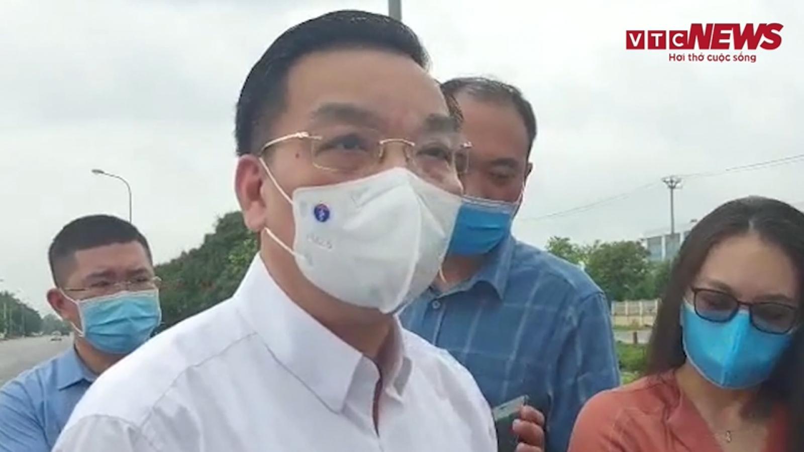Chủ tịch UBND Thành phố Hà Nội kiểm tra việc cách ly y tế BV Bệnh nhiệt đới TW