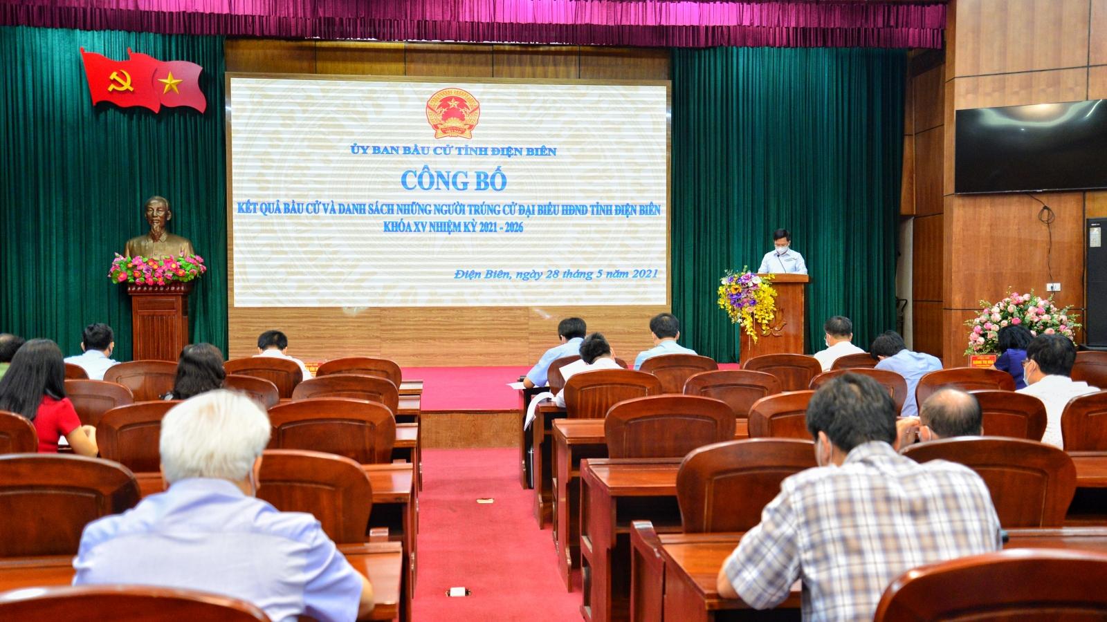Điện Biên đã bầu 52 đại biểu HĐND tỉnh