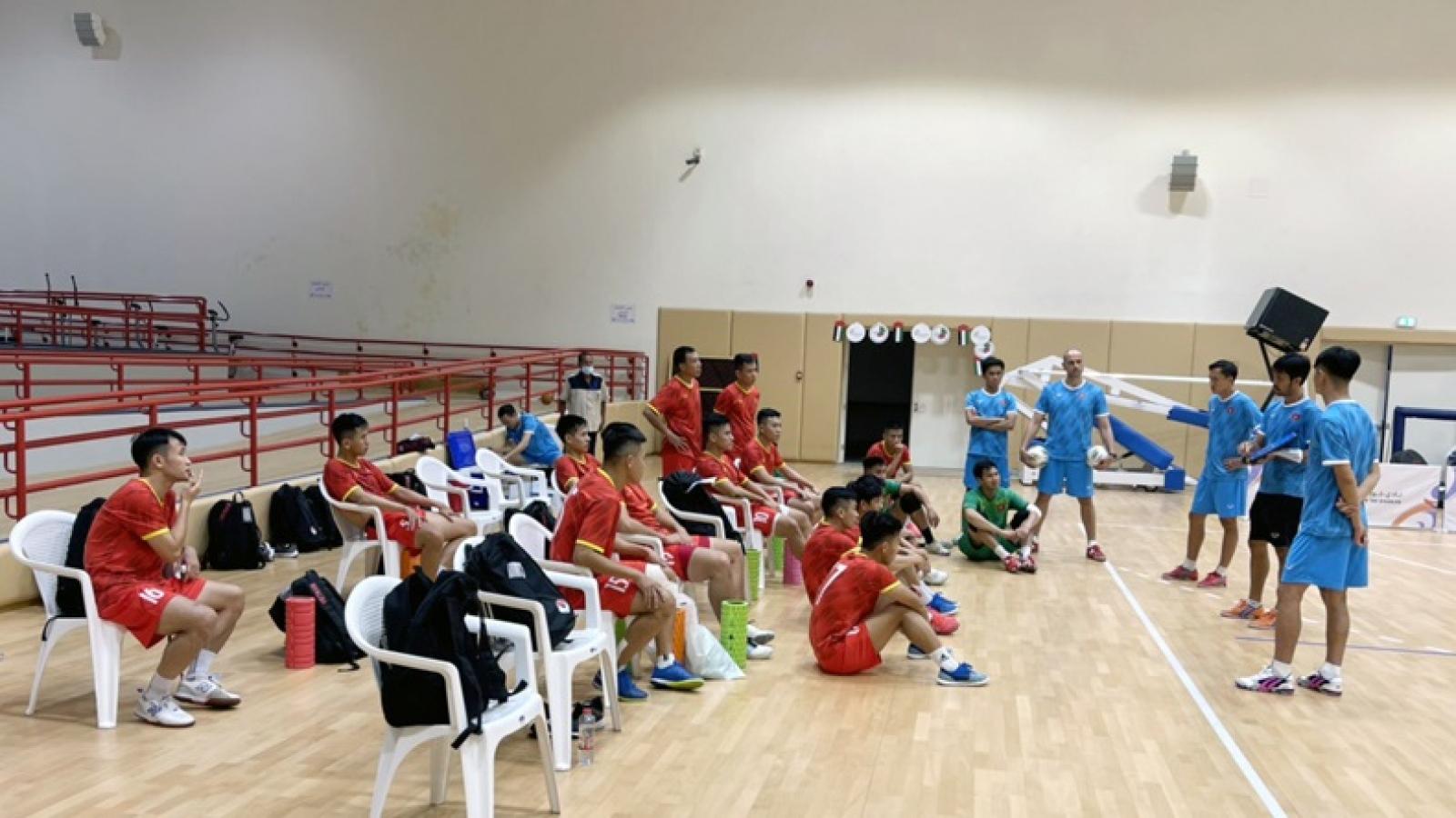 ĐT Việt Nam không được chủ quan nếu muốn có vé dự Futsal World Cup 2021
