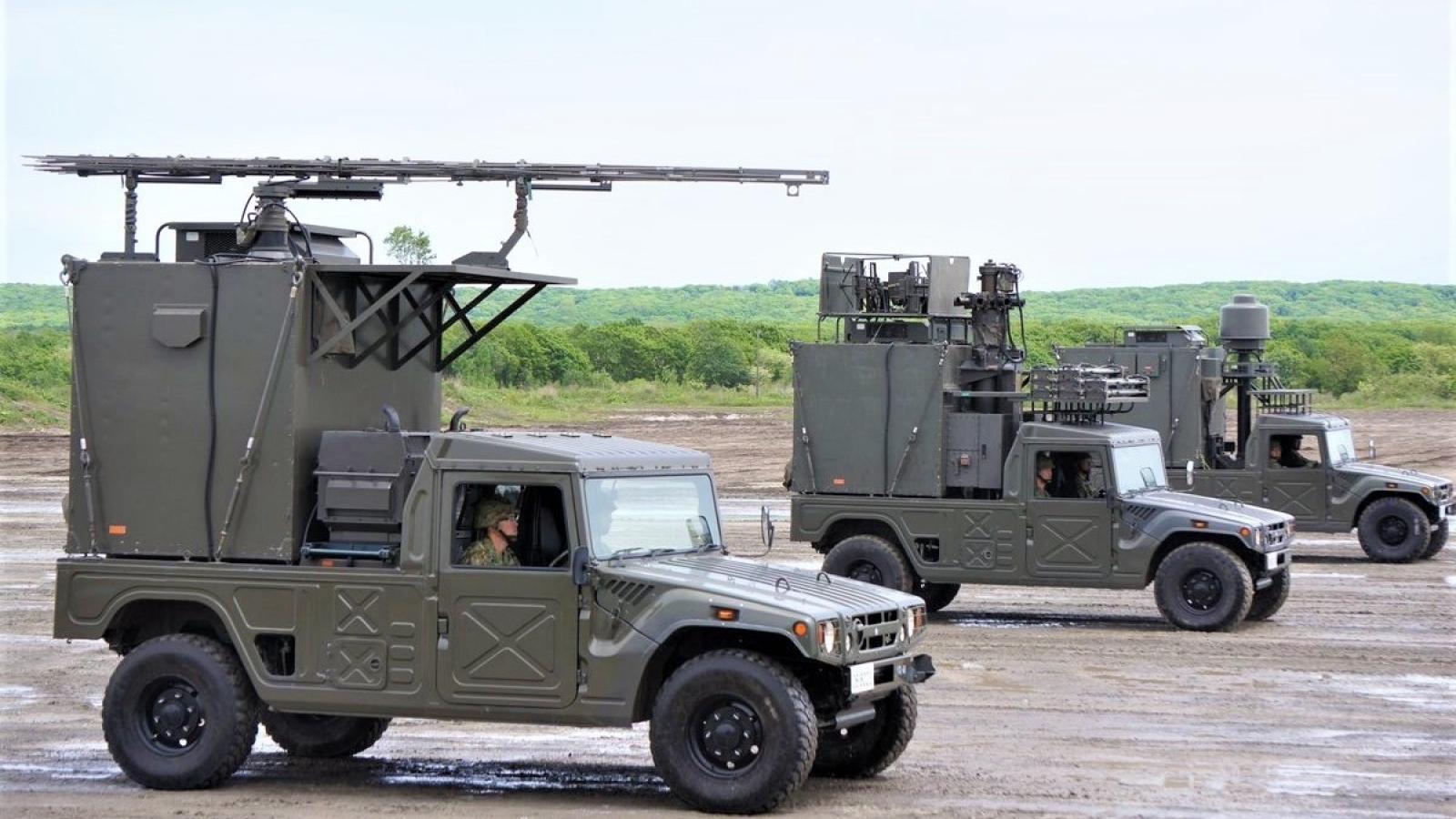 Nhật Bản đưa thiết bị tác chiến điện tử hiện đại vào trang bị