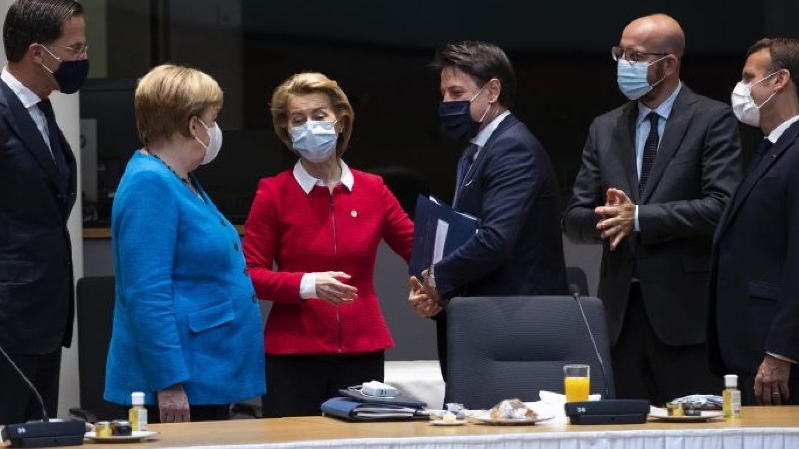 """Thượng đỉnh EU """"nóng"""" vấn đề Belarus, Nga và Trung Quốc"""