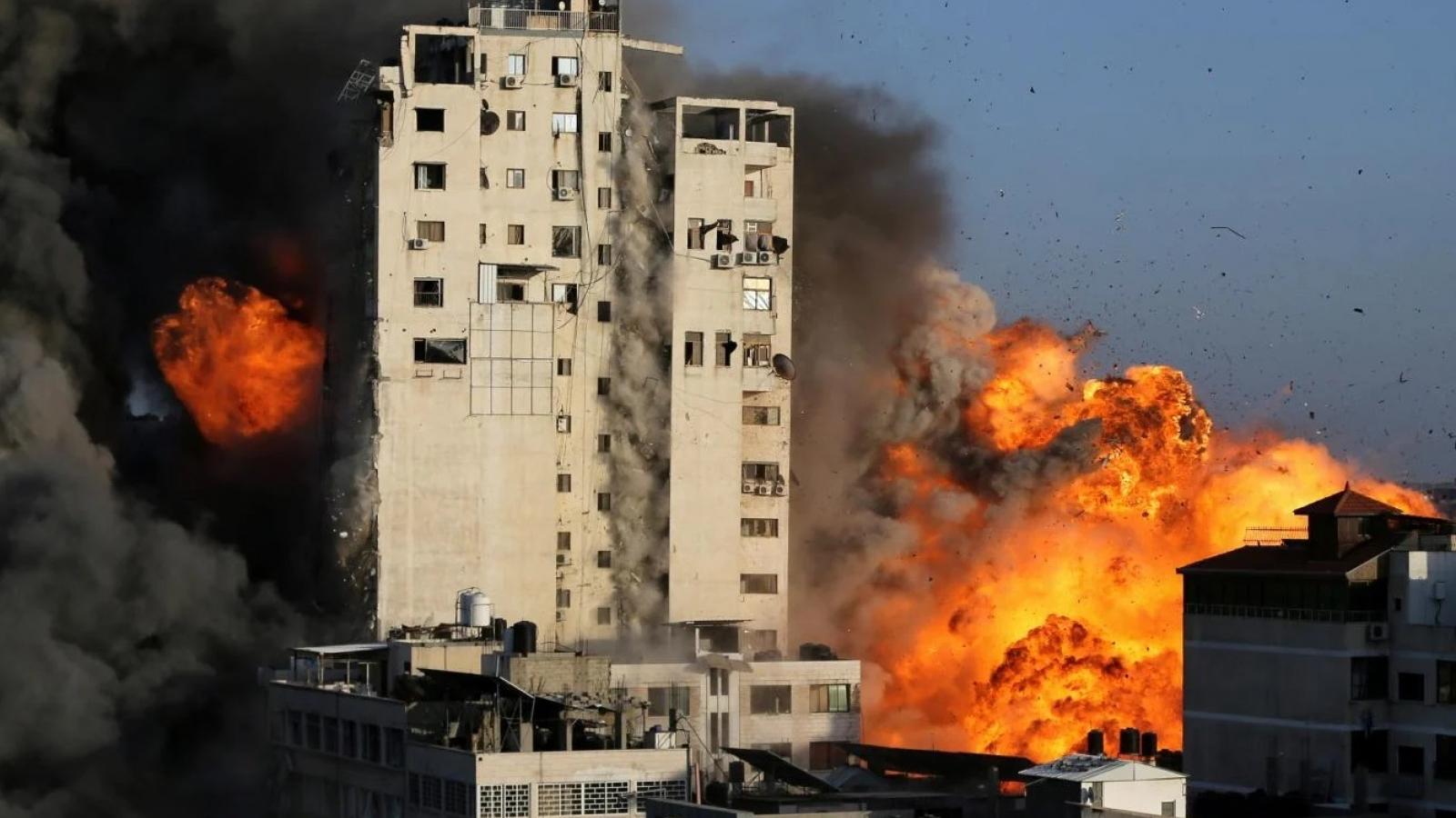 Giao tranh Gaza leo thang sang ngày thứ 5 liên tiếp, nhiều người thiệt mạng