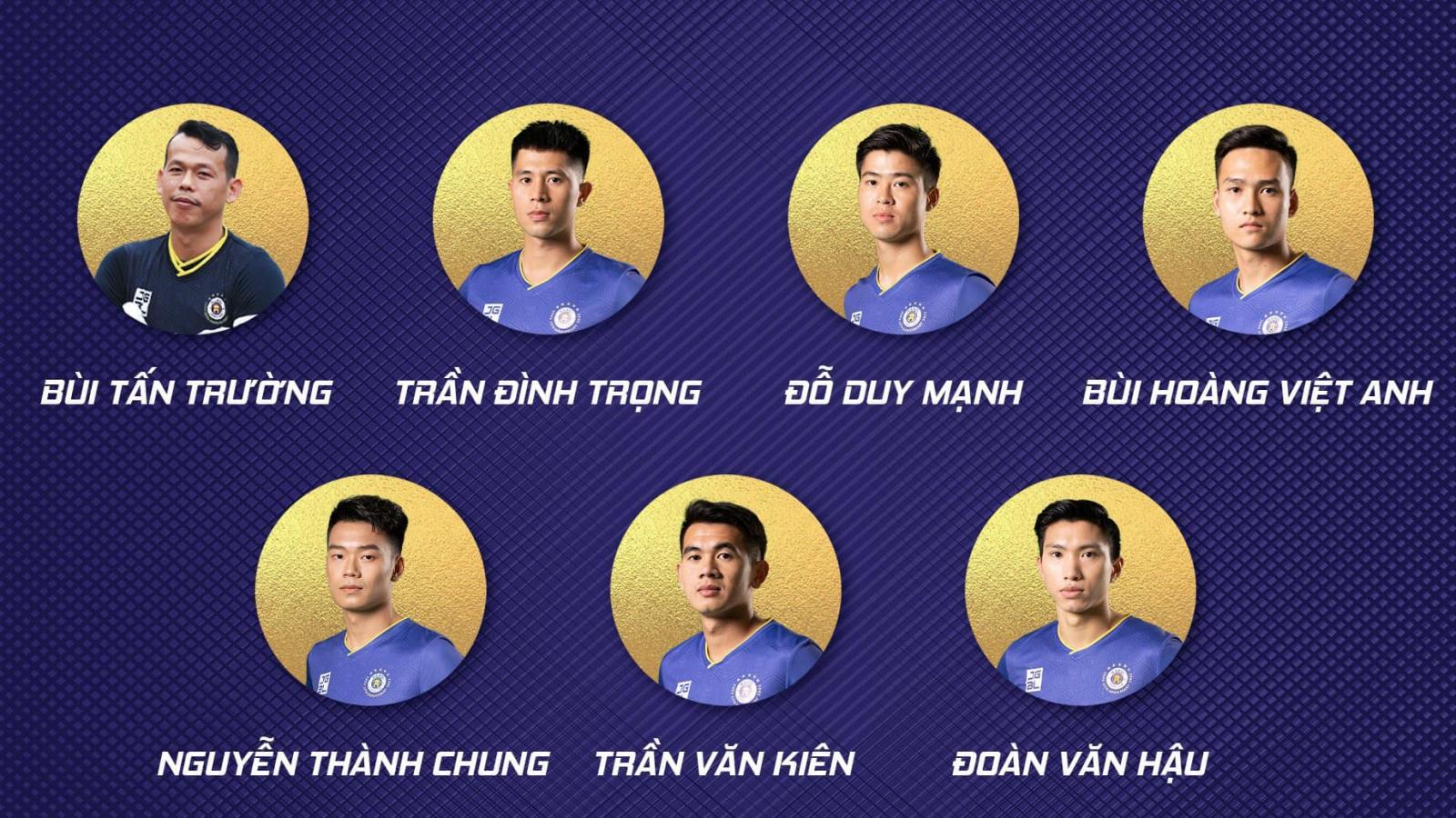Những cầu thủ Hà Nội FC được gọi lên ĐT Việt Nam: Tiếc cho Văn Quyết