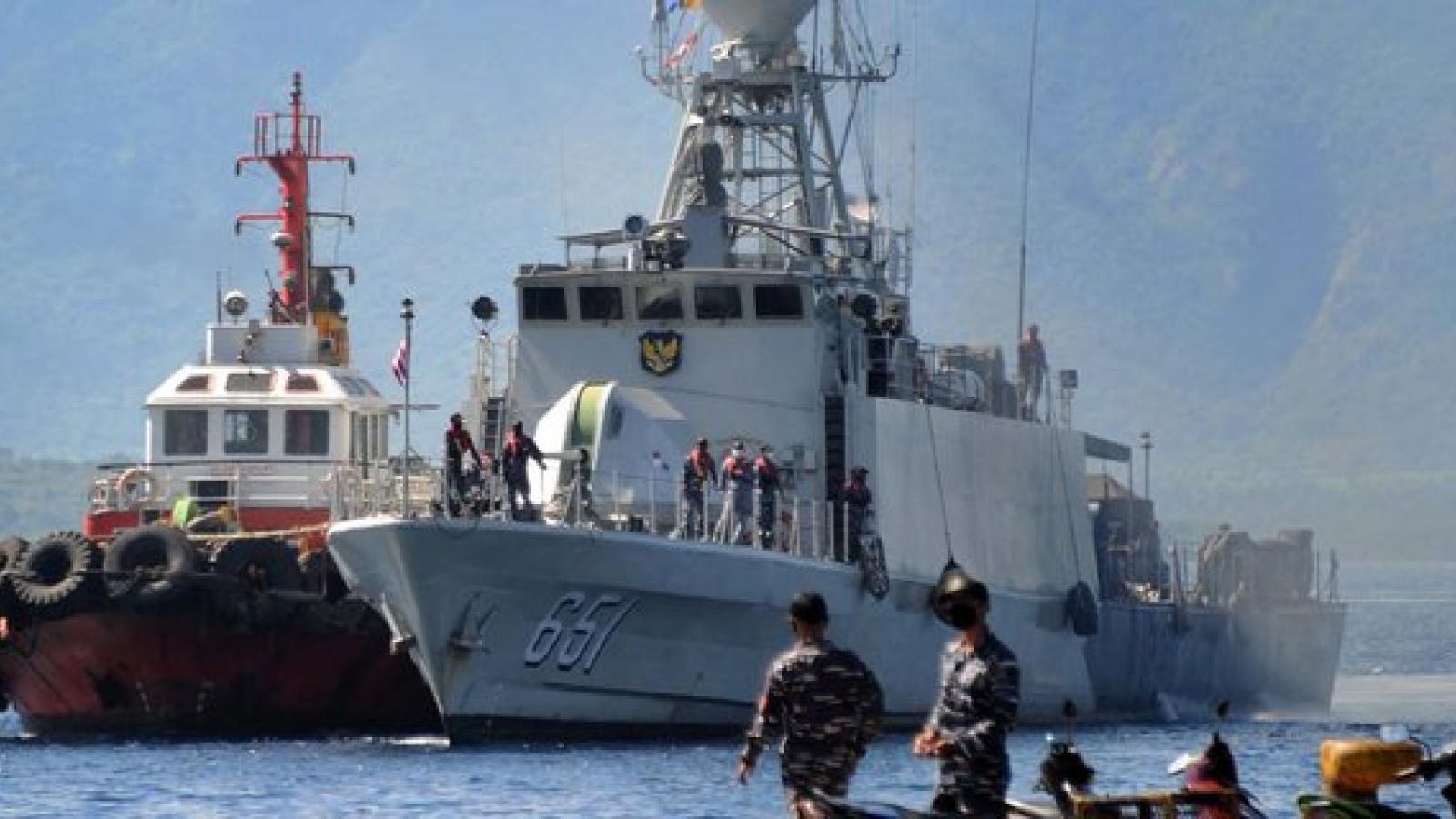 Khó khăn Hải quân Indonesia phải đối mặt khi trục vớt tàu ngầm chìm