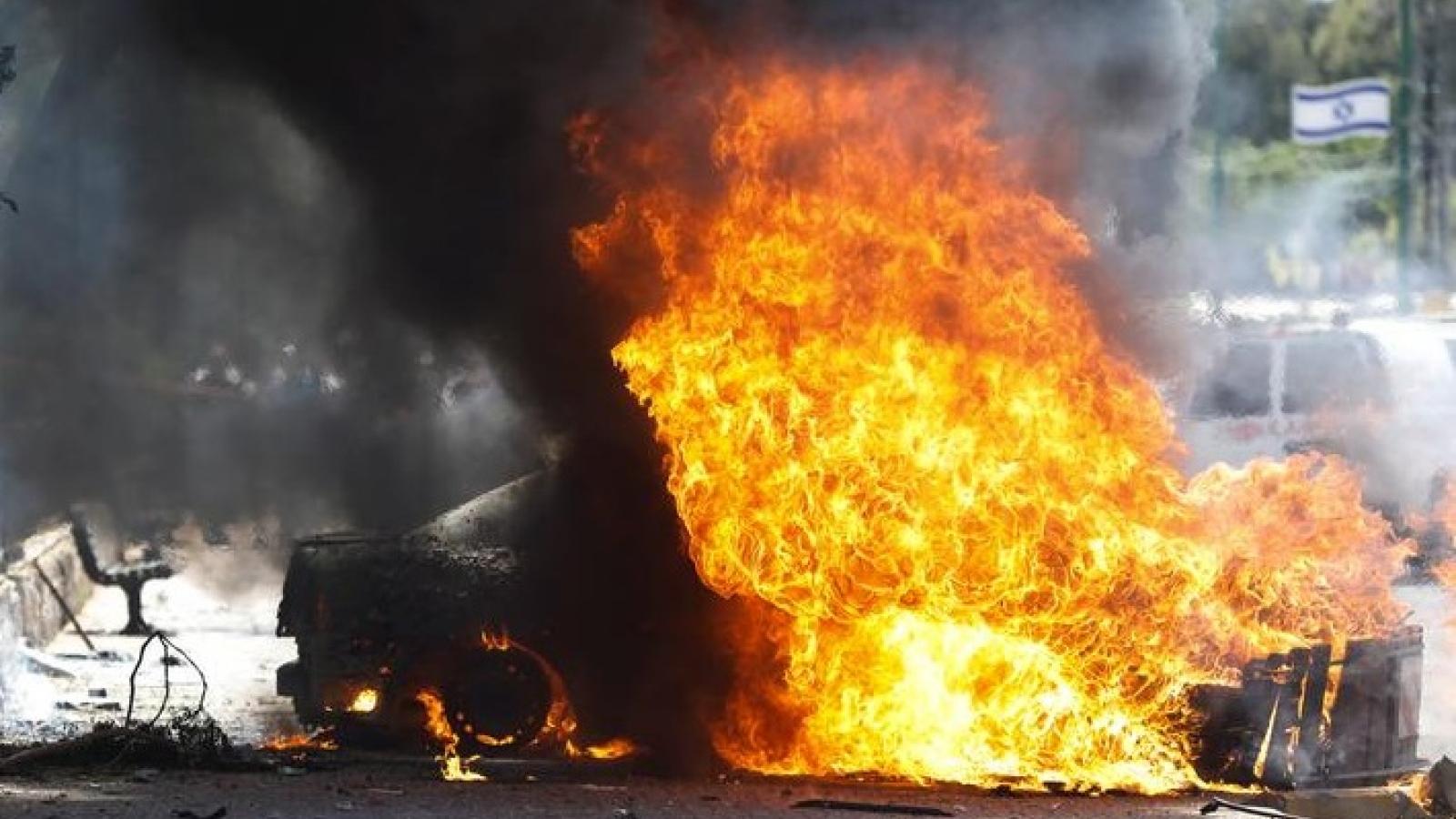 Tổng thiệt hại do Hamas gây ra cho Israel trong 8 ngày xung đột