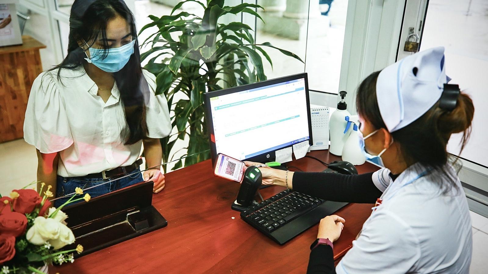 Kiến nghị sử dụng hình ảnh thẻ BHYT trên ứng dụng VssID trong KCB BHYT