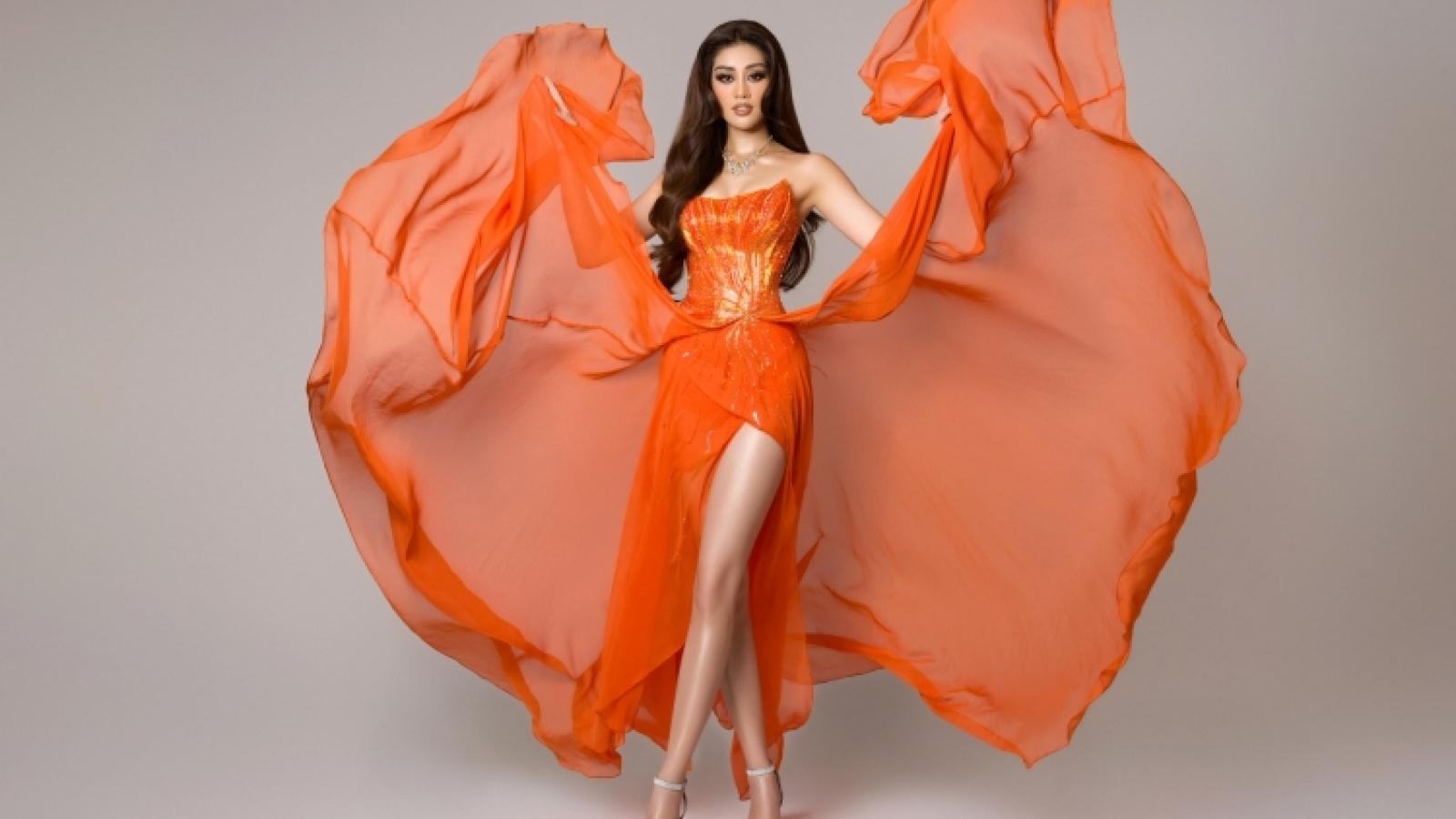 Khanh Van well performs at Miss Universe semi-finals