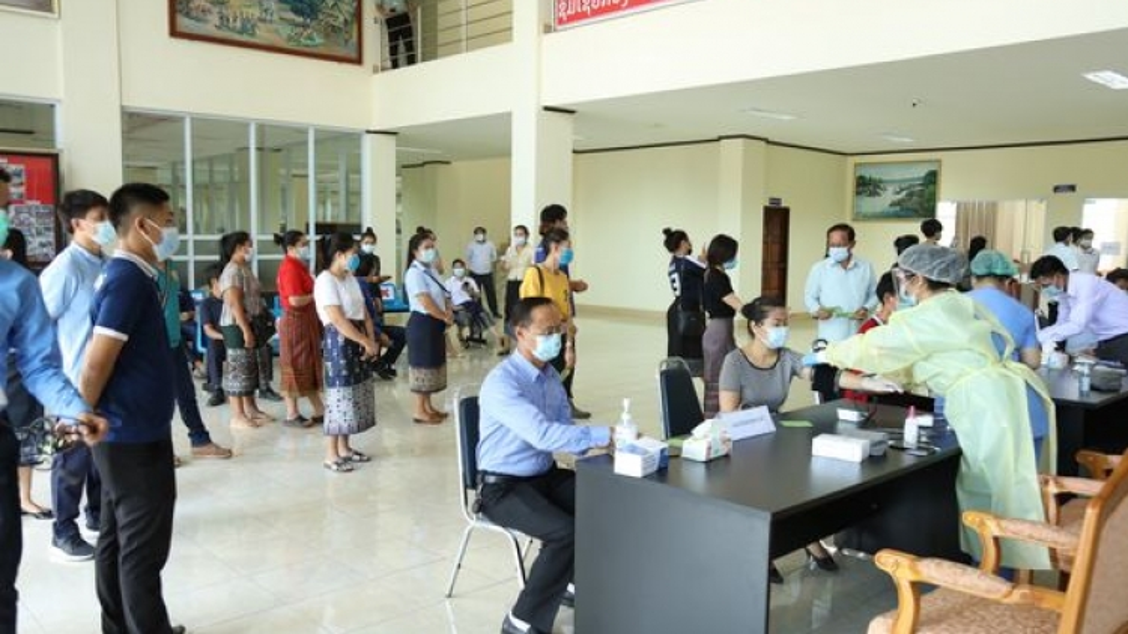 Số ca mắc Covid-19 tăng trở lại, Lào lo ngại tình trạng ủ bệnh trong cộng đồng