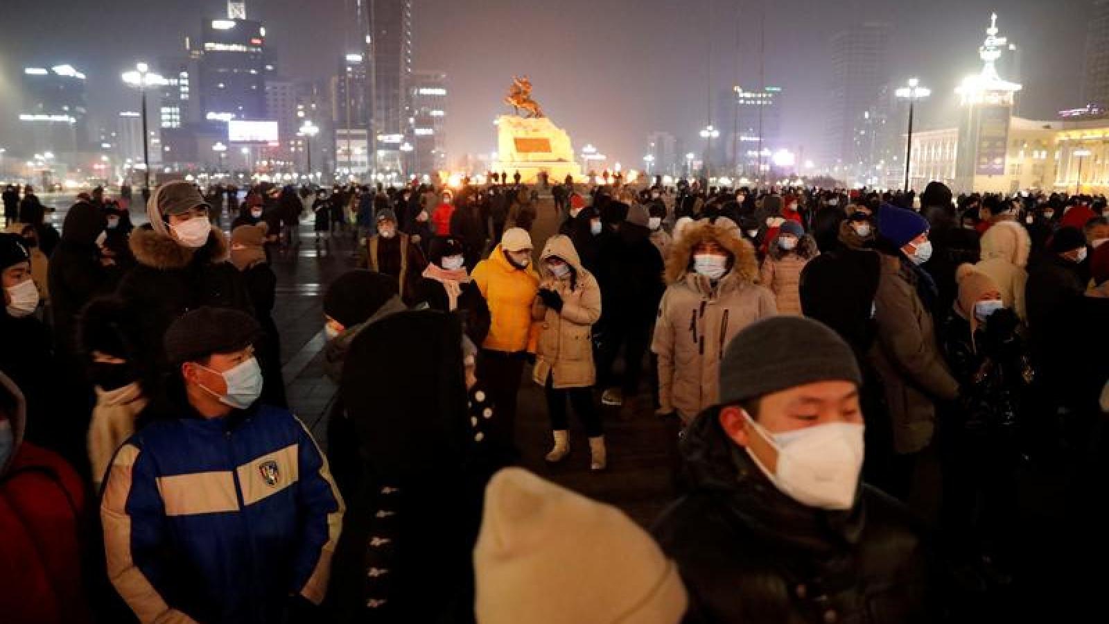 Covid-19 lan ra 21/22 tỉnh, thành ở Mông Cổ, hơn 41.000 người mắc bệnh