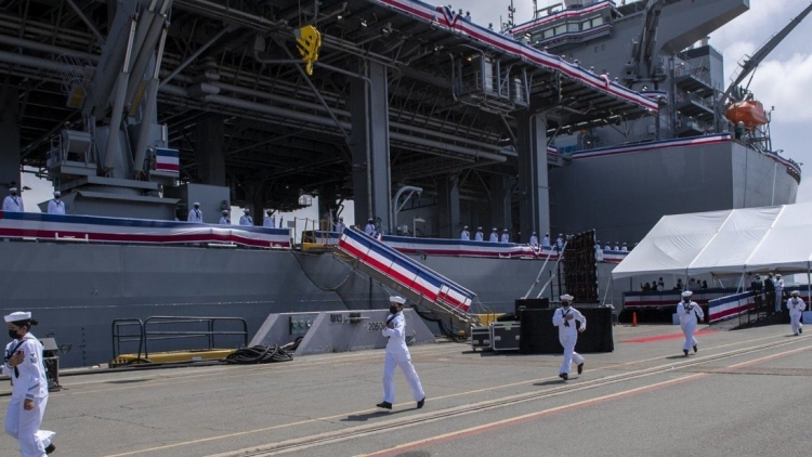 Căn cứ hải quân di động Mỹ sẽ thách thức trực tiếp tham vọng của Trung Quốc ở Biển Đông?