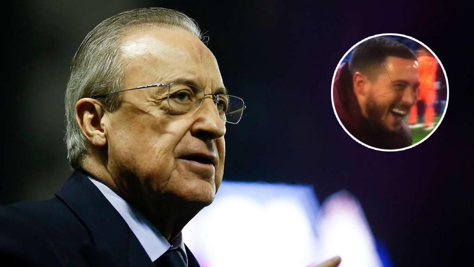 Nụ cười Hazard và cái tát vào tham vọng của Chủ tịch Perez