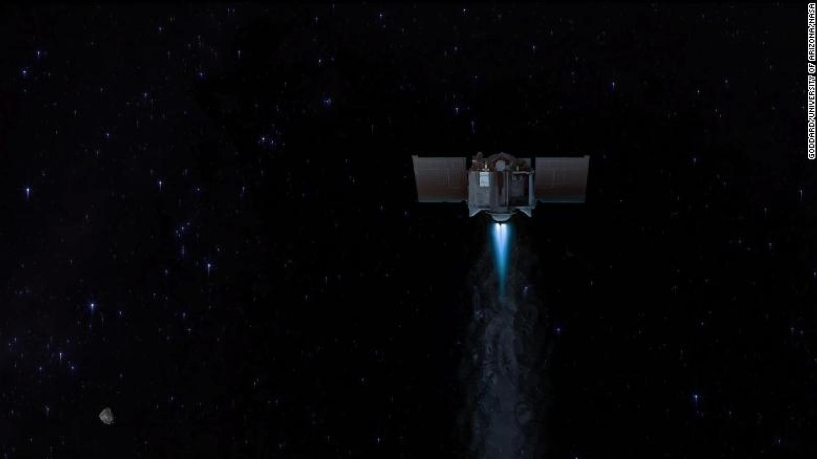 Tàu vũ trụ của NASA trở lại Trái Đất, đem theo mẫu vật quý giá từ thiên thạch Bennu