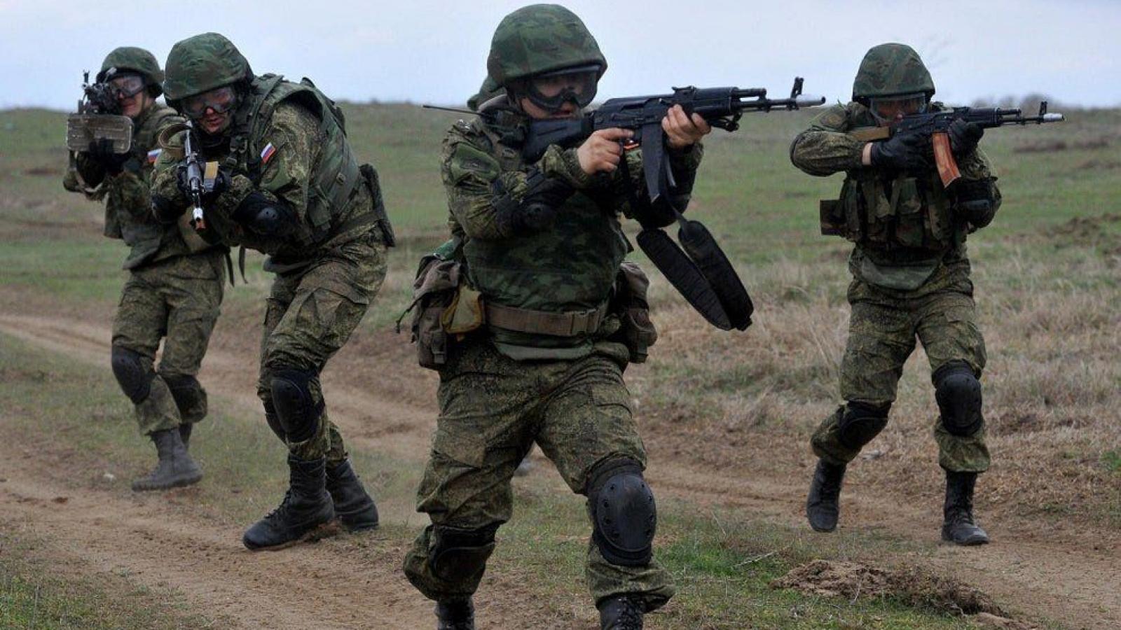 Nga và Serbia tập trận chống khủng bố chung
