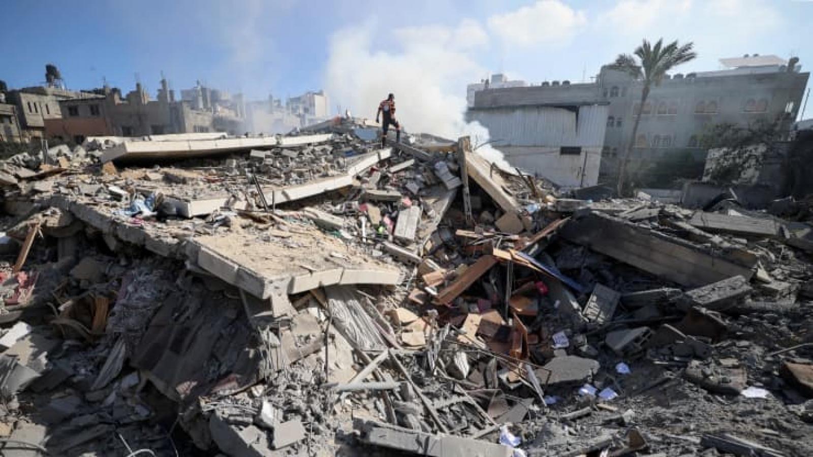 """Thủ tướng Israel tuyên bố tiếp tục tấn công Dải Gaza """"tới khi đạt được mục tiêu"""""""
