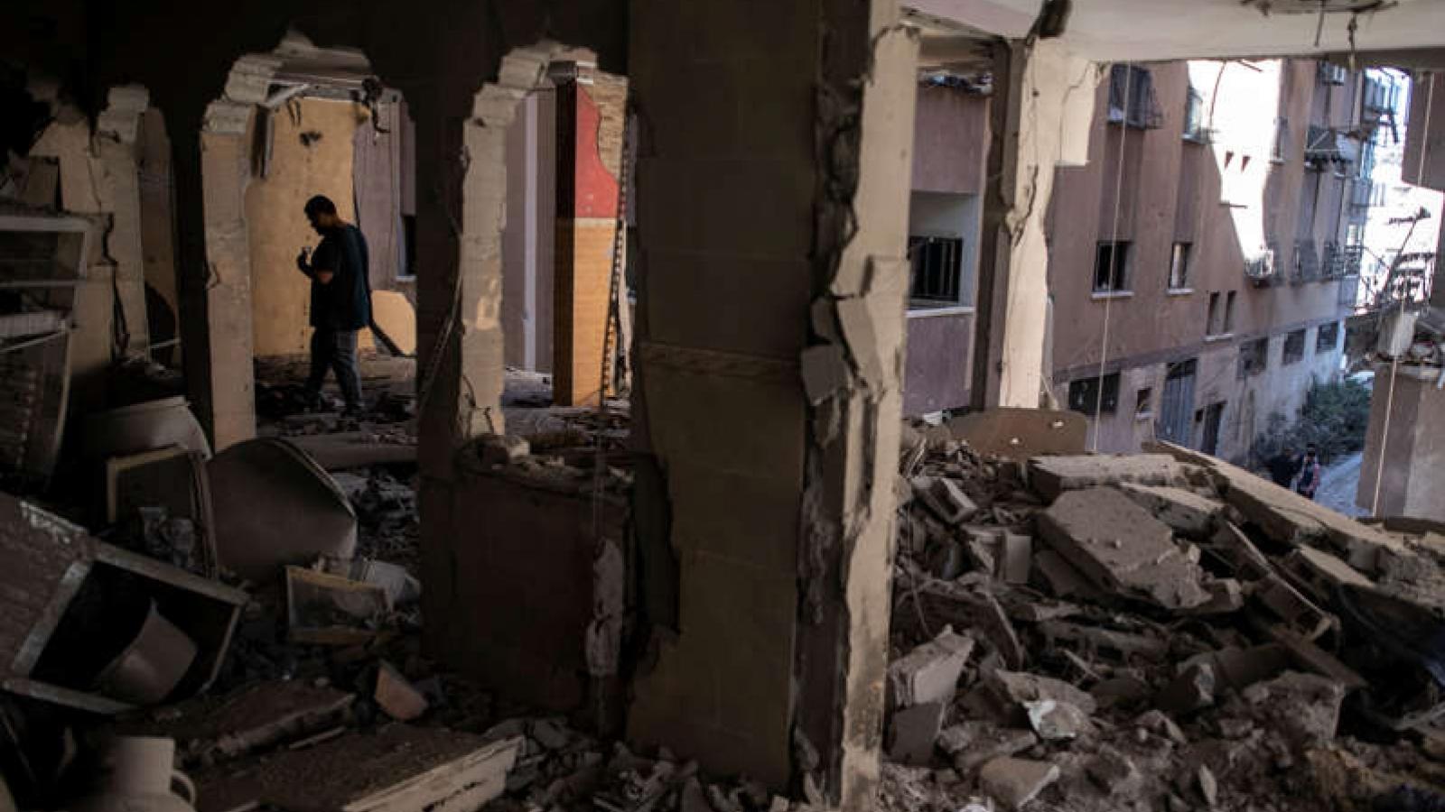 Israel đánh bom nhà của thủ lĩnh Hamas ở Dải Gaza