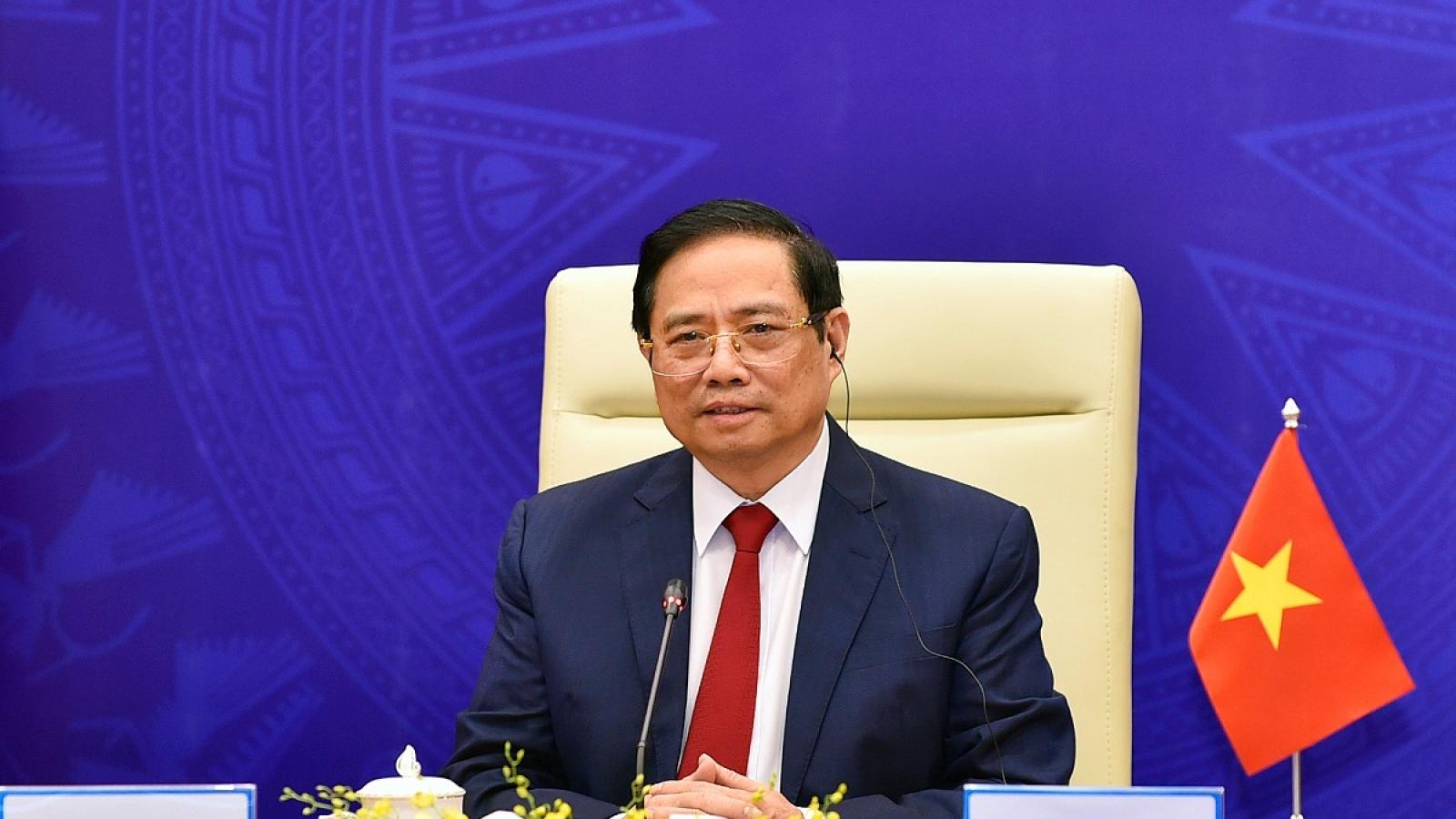 Thủ tướng: Chung tay là chìa khóa vượt qua COVID-19, khẳng định vị thế và vai trò châu Á