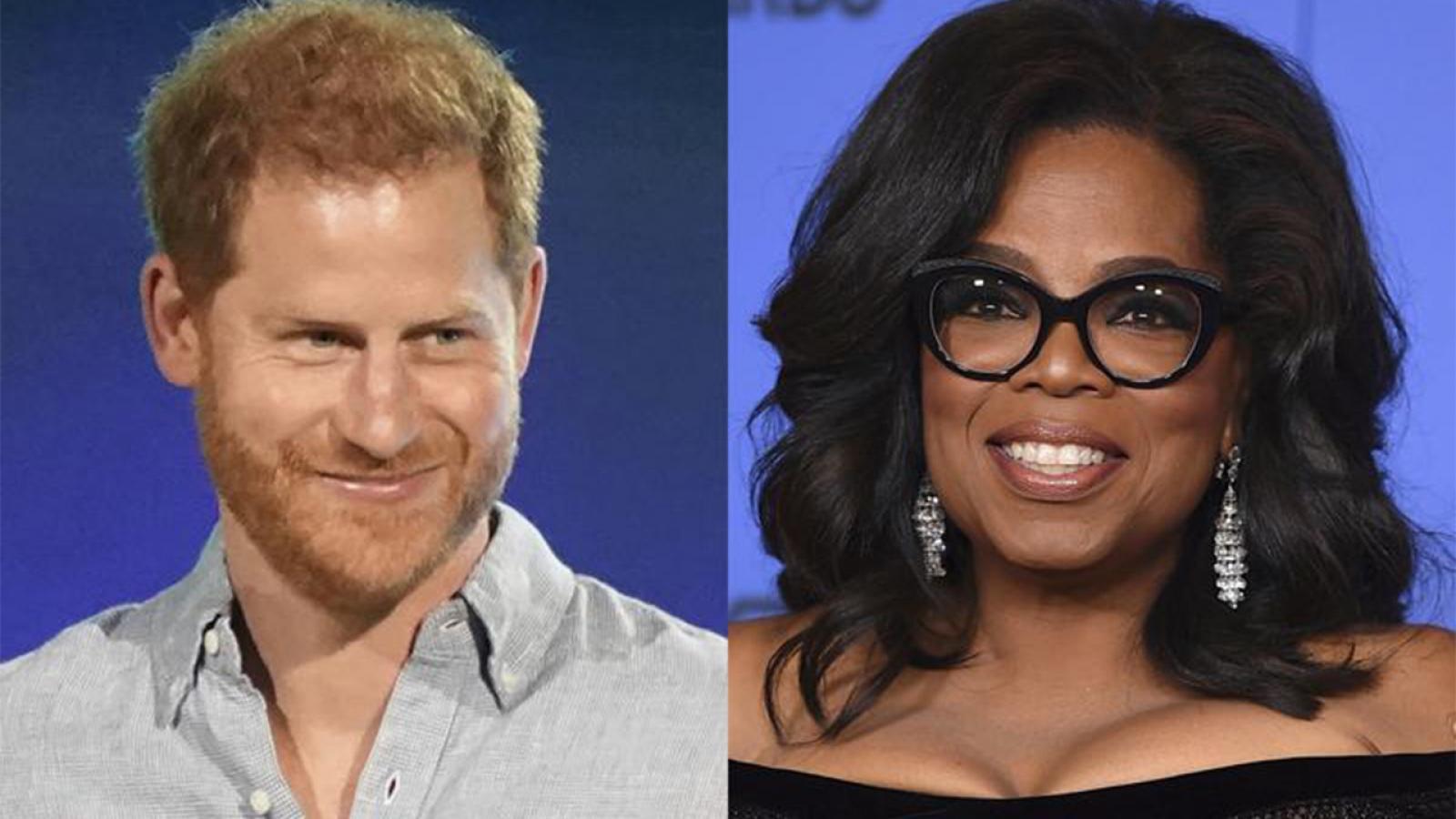 Hoàng tử Harry và Oprah Winfrey hợp tác trong loạt Apple TV+ về sức khoẻ tinh thần