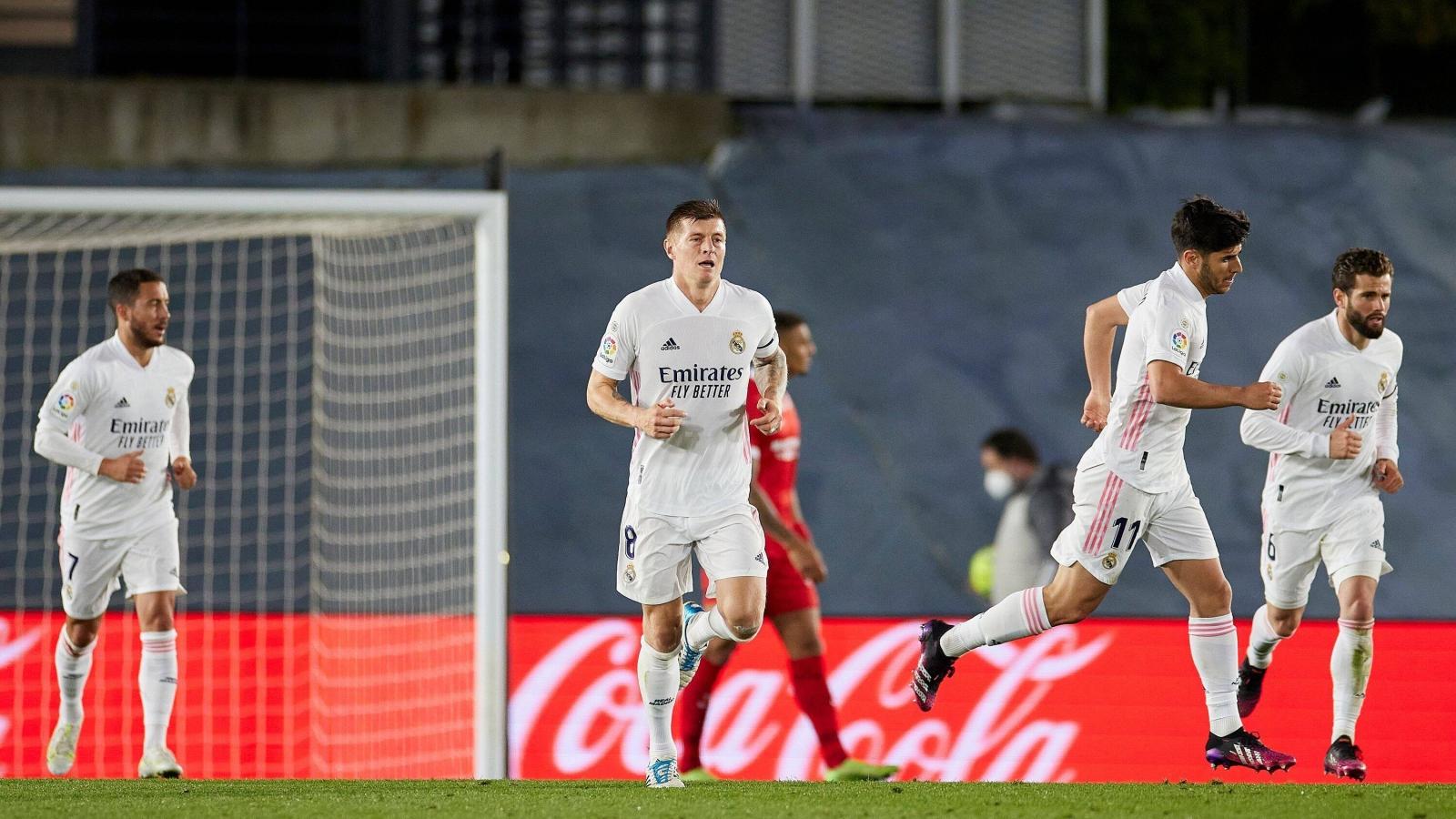 Hòa thất vọng Sevilla, Real Madrid mất quyền tự quyết trong cuộc đua vô địch La Liga