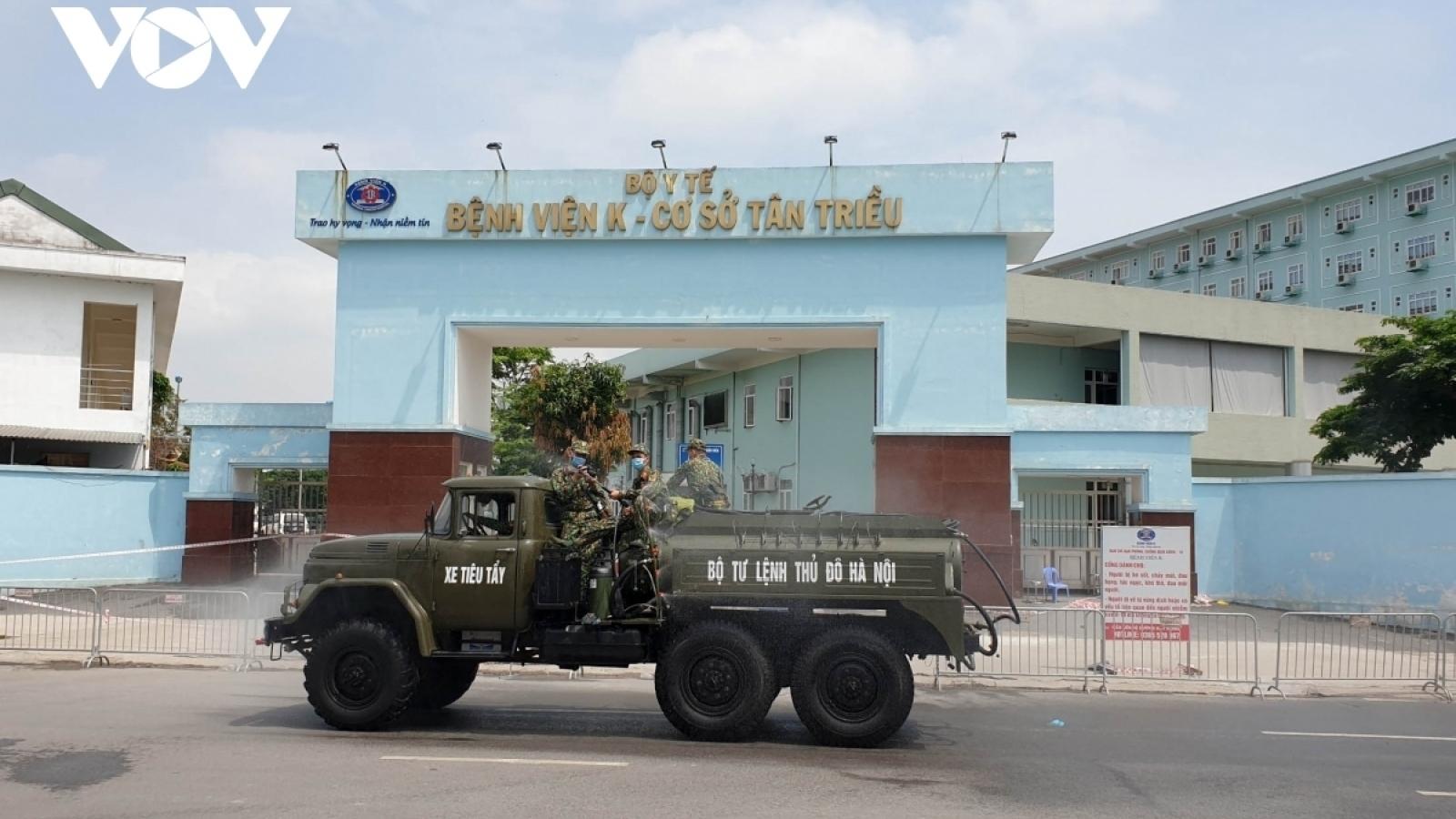 Hanoi records 5 more positive cases of SARS-CoV-2