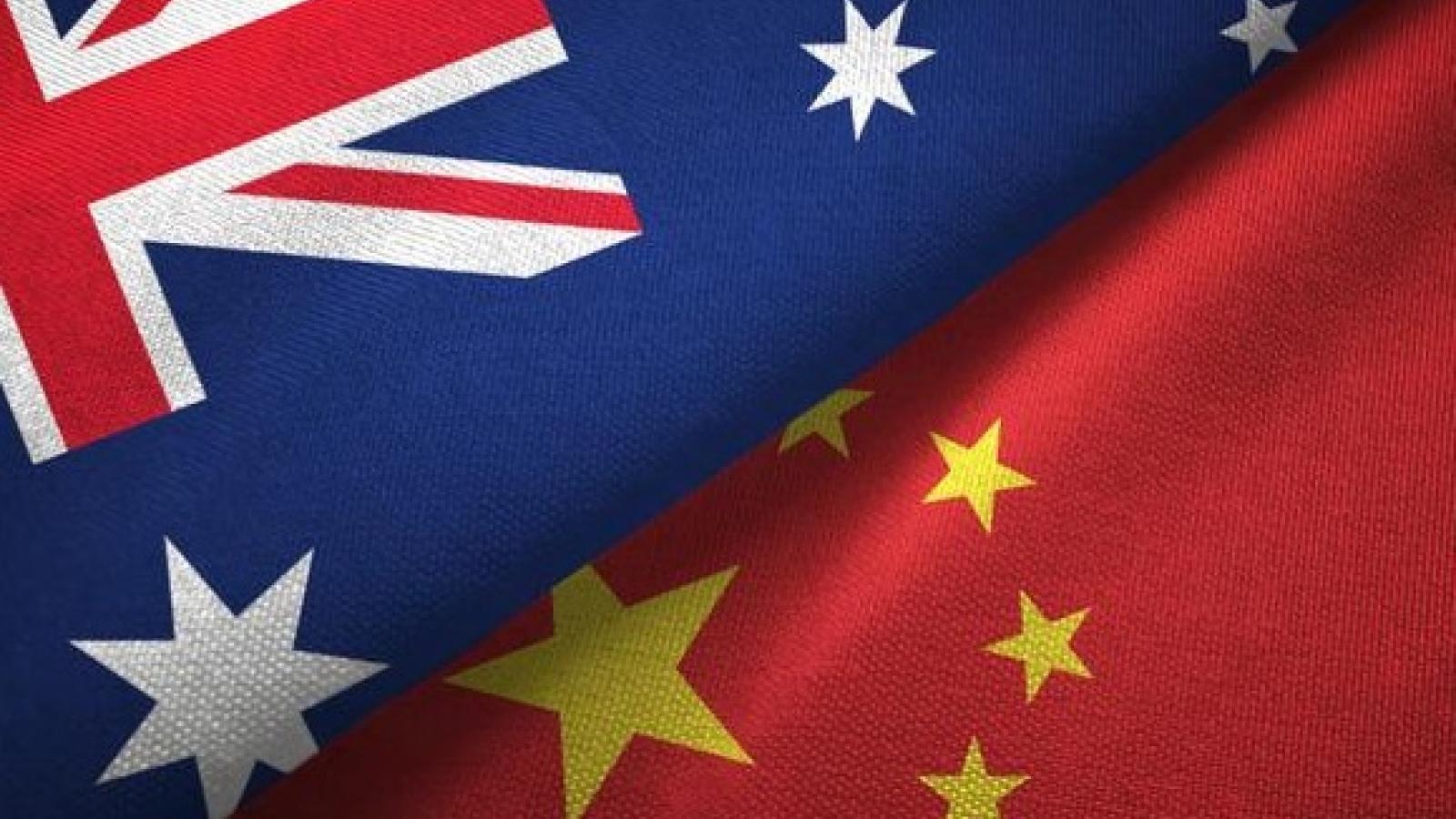 Trung Quốc đình chỉ hoạt động trong khuôn khổ Đối thoại Kinh tế Chiến lược với Australia