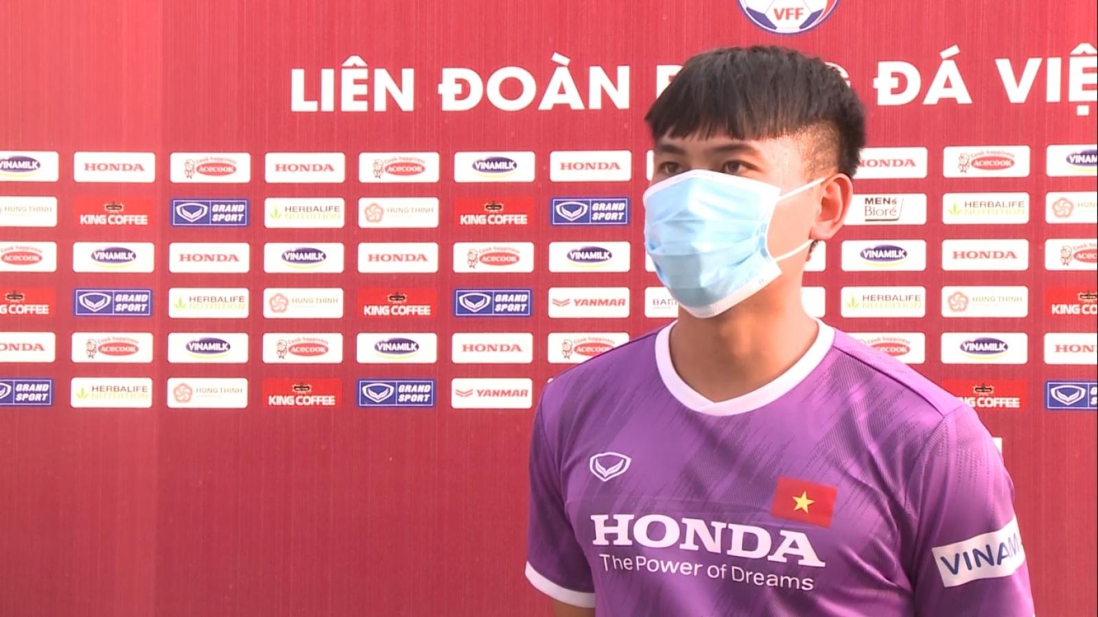 Học trò U22 Việt Nam tiết lộ đấu pháp của HLV Park Hang Seo