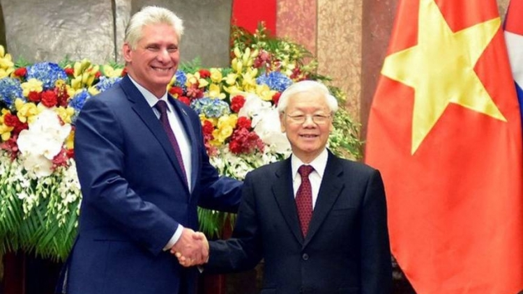 Vietnam treasures traditional relations with Cuba: Party leader