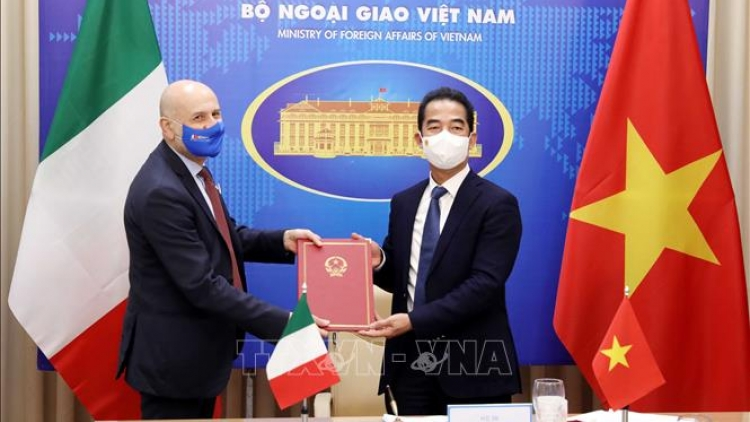 Vietnam, Italy to increase high-level reciprocal visits