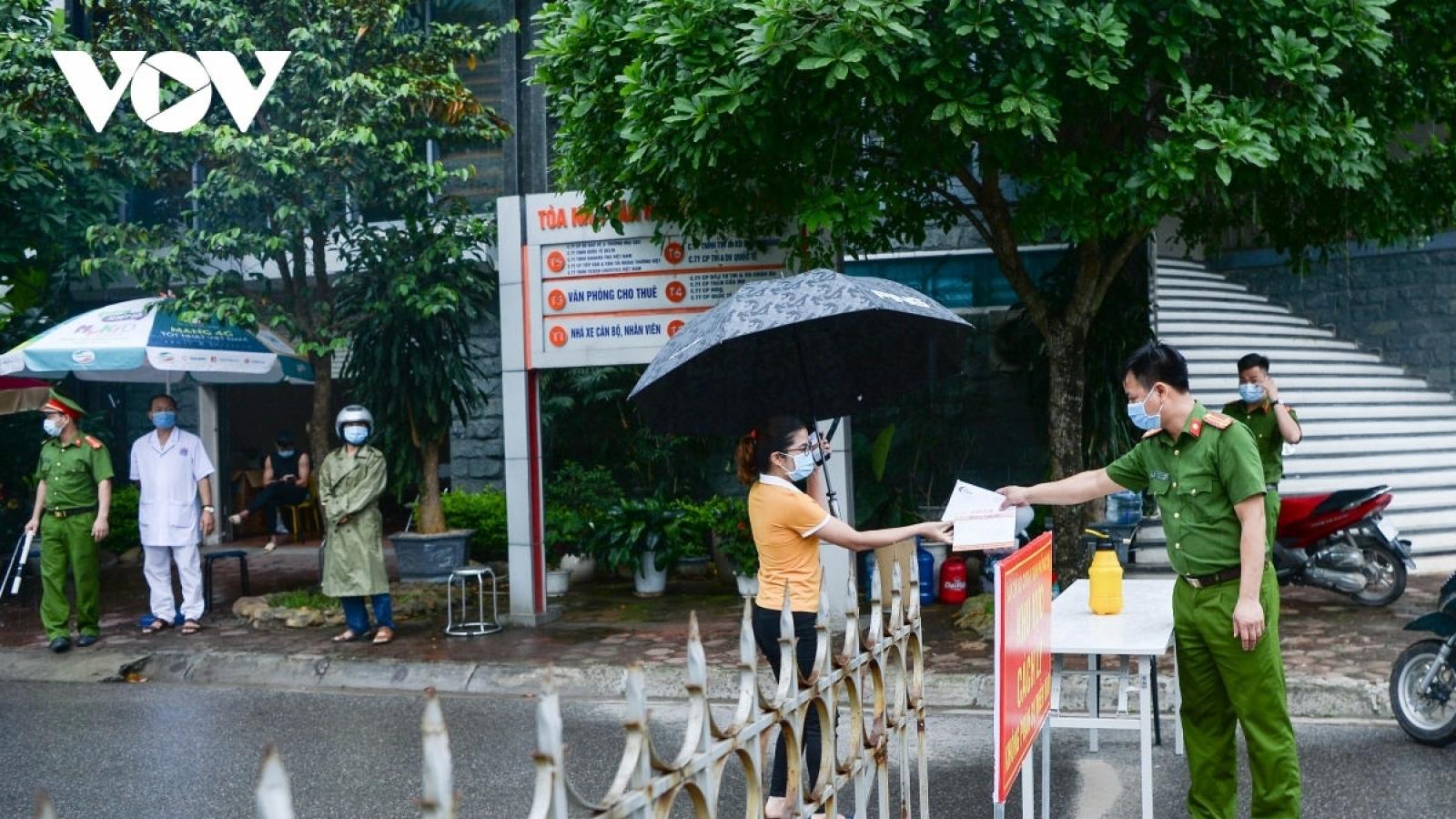 Thành phố Vĩnh Yên (Vĩnh Phúc) kết thúc thực hiện cách ly xã hội