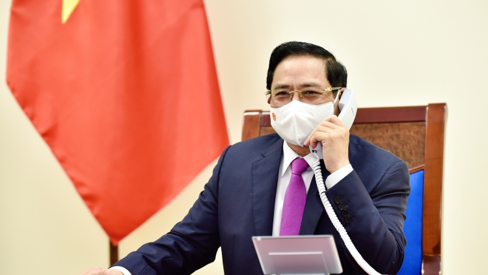Thủ tướng Chính phủ Phạm Minh Chính điện đàm với Thủ tướng Thái Lan Prayut Chan-o-cha