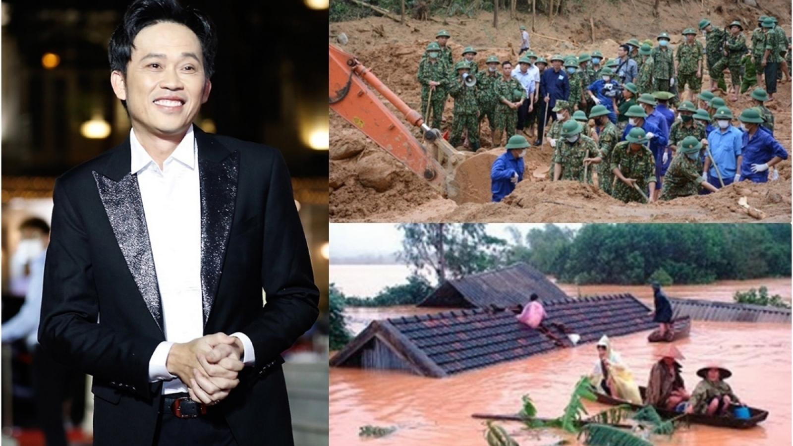 Chậm trao tiền cứu trợ miền Trung, nghệ sĩ Hoài Linh có thể phải bồi thường