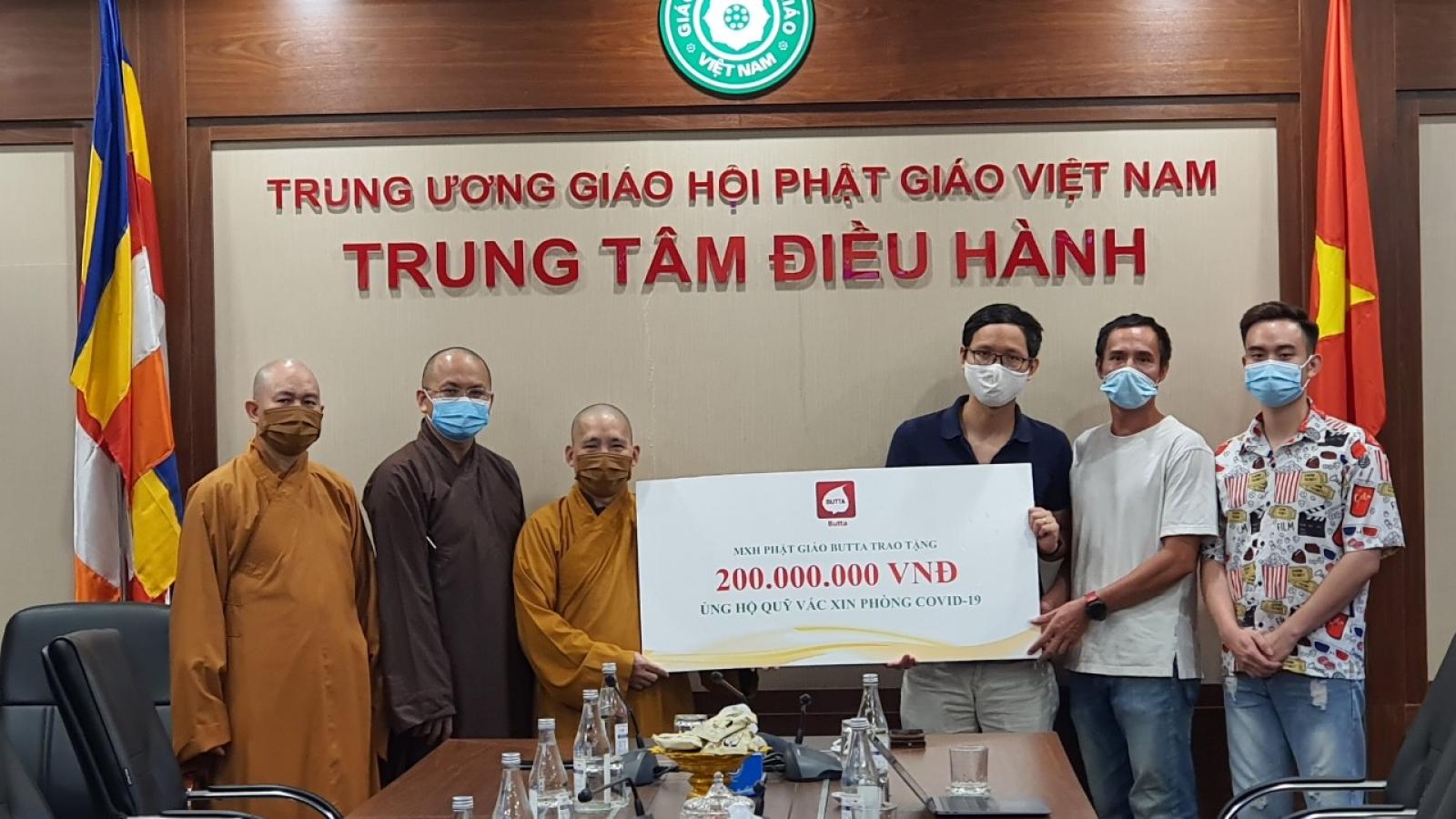 20.000 lượt tắm Phật online qua mạng xã hội Phật giáo Butta