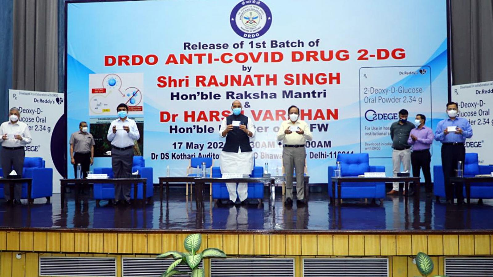 Thuốc kháng Covid-19 của Ấn Độ giúp giảm thời gian điều trị và việcthở oxy của bệnh nhân