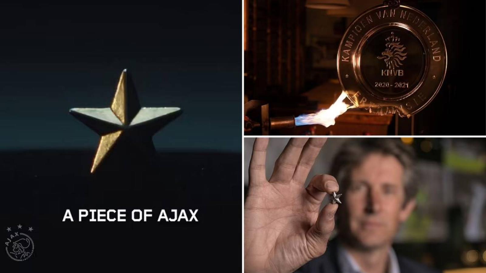 """Ajax """"nấu"""" cúp vô địch làm quà tặng cho người hâm mộ"""