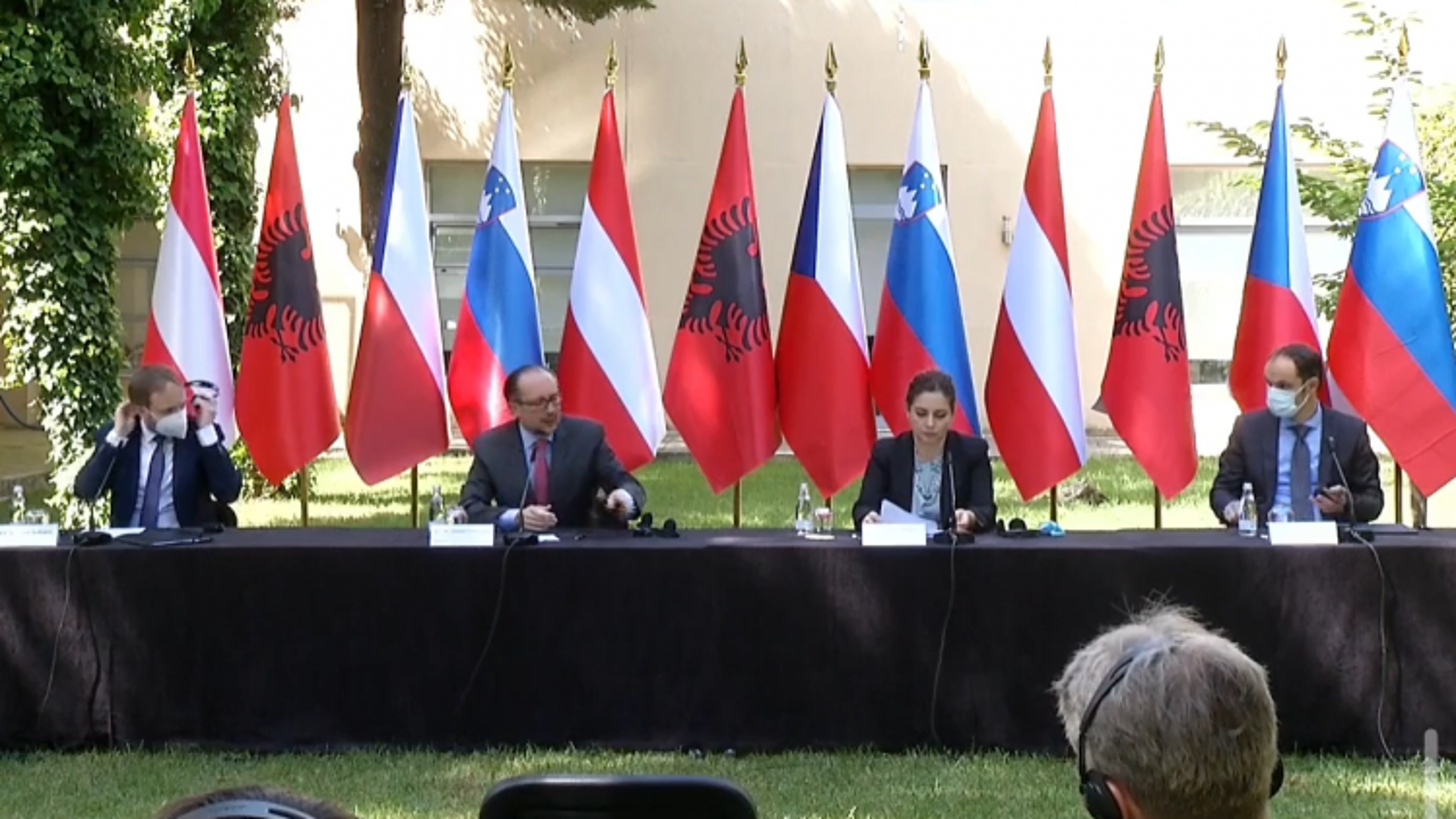 Áo, Cộng hòa Séc và Slovenia ủng hộ Bắc Macedonia gia nhập EU