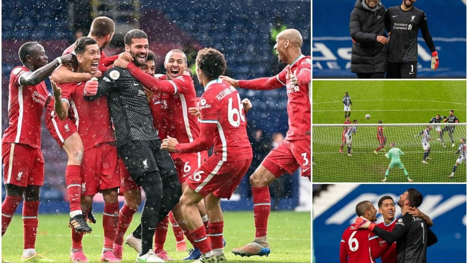 Alisson nói gì sau khi ghi bàn thắng để đời cho Liverpool?
