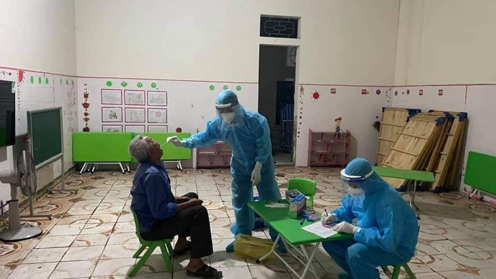 Toàn bộ F1 của bệnh nhân mắc Covid-19 ở Nghệ An đã âm tính lần 1 với SARS-CoV-2