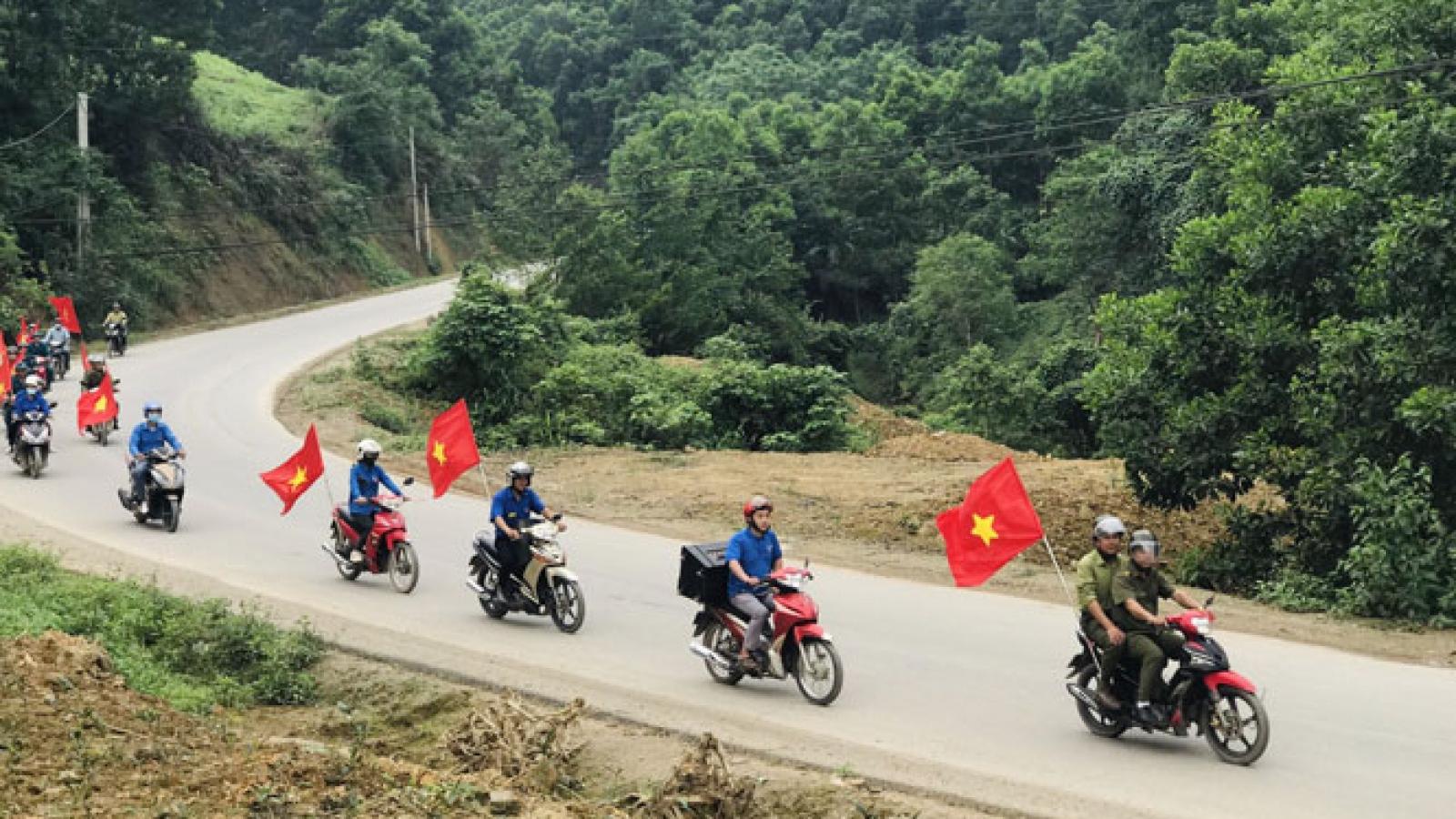 """Thái Nguyên chú trọng tuyên truyền bầu cử ở địa bàn đặc biệt, vùng """"lõm"""" thông tin"""