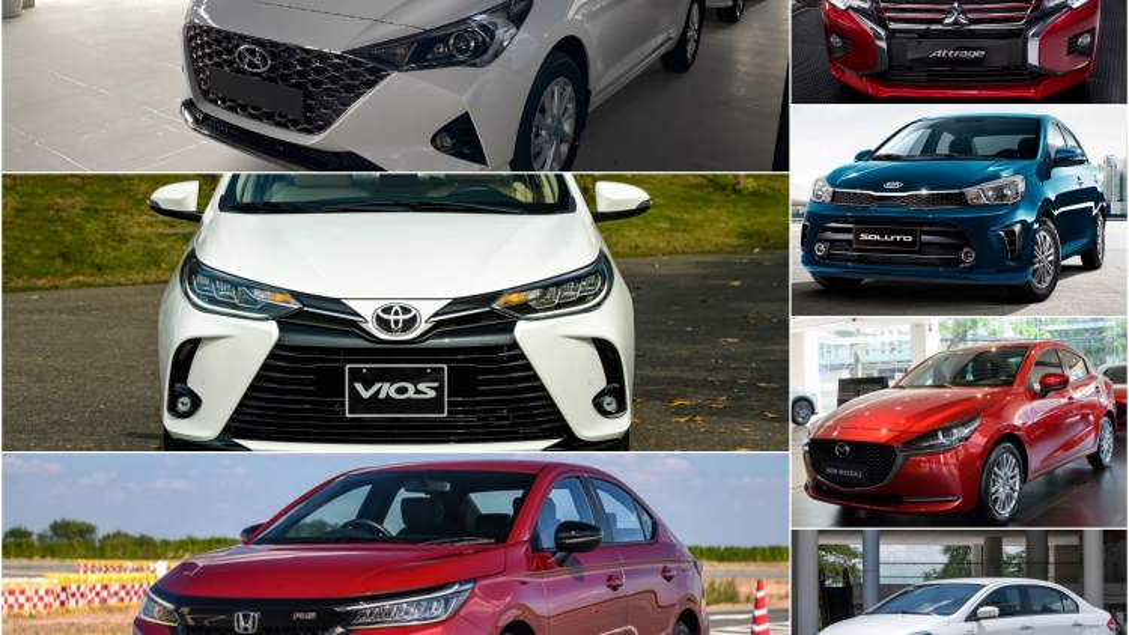 Phân khúc sedan hạng B: Cuộc đua doanh số của Hyundai Accent và Toyota Vios