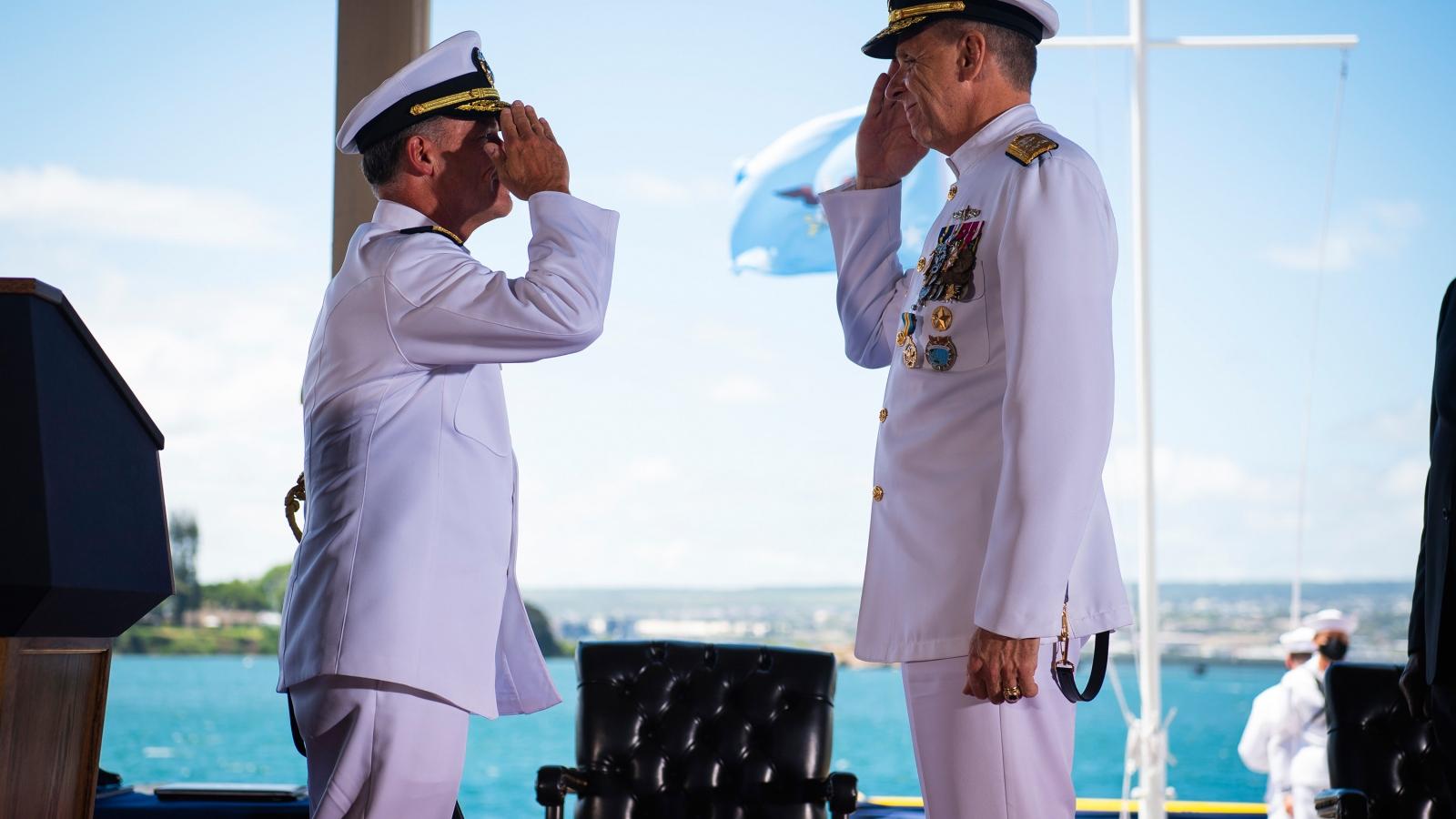 Đại sứ Hà Kim Ngọc dự lễ nhậm chức Tư lệnh các lực lượng Ấn Độ Thái Bình Dương của Hoa Kỳ
