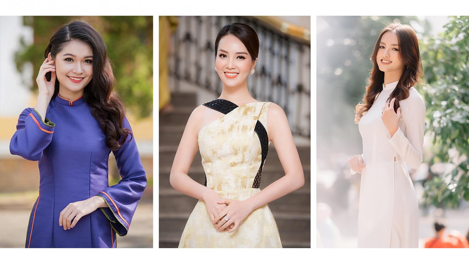 3 hoa khôi đình đám của Đại học Ngoại thương từng ghi dấu ấn tại Hoa hậu Việt Nam