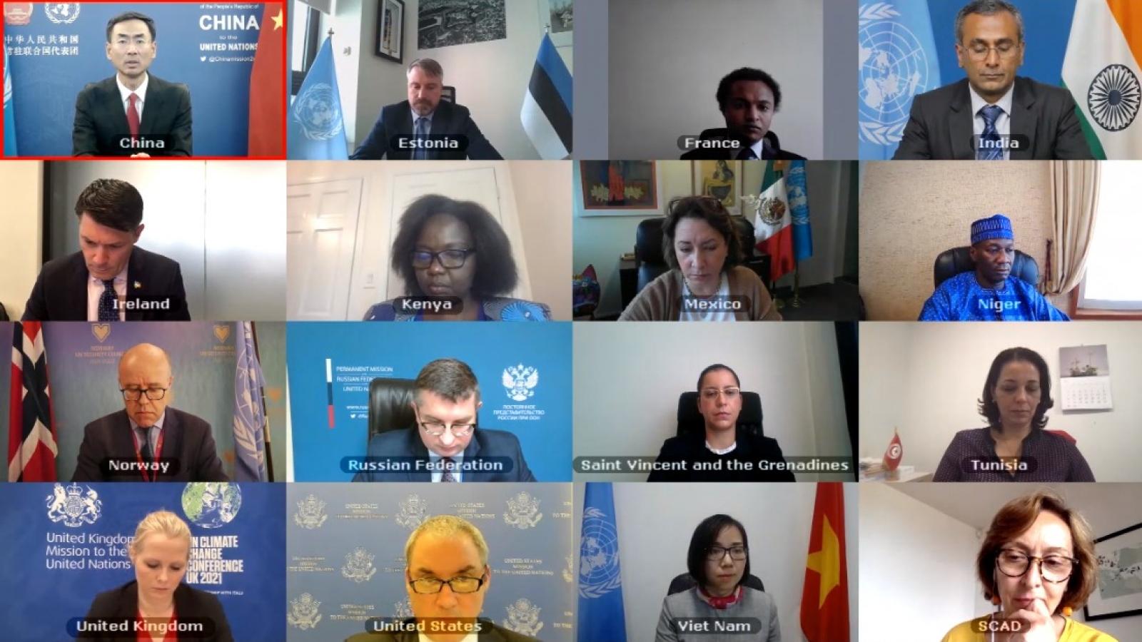 Hội đồng Bảo an thảo luận về tình hình Lebanon