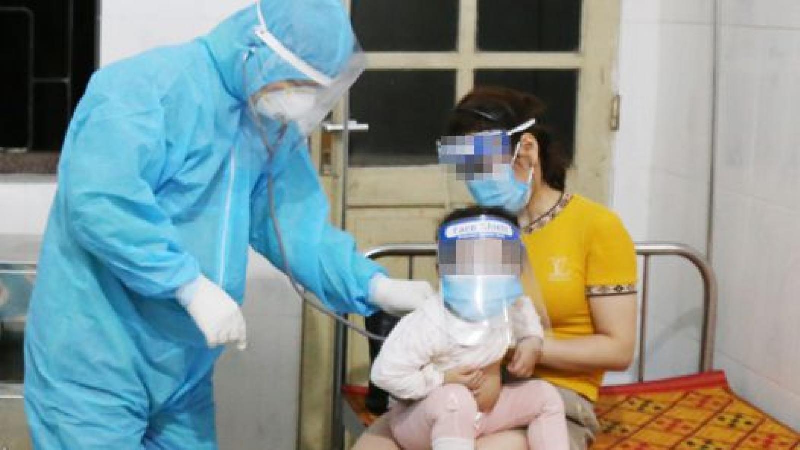 Bé gái 19 tháng tuổi từ Lào về Hà Tĩnh dương tính với SARS-CoV-2