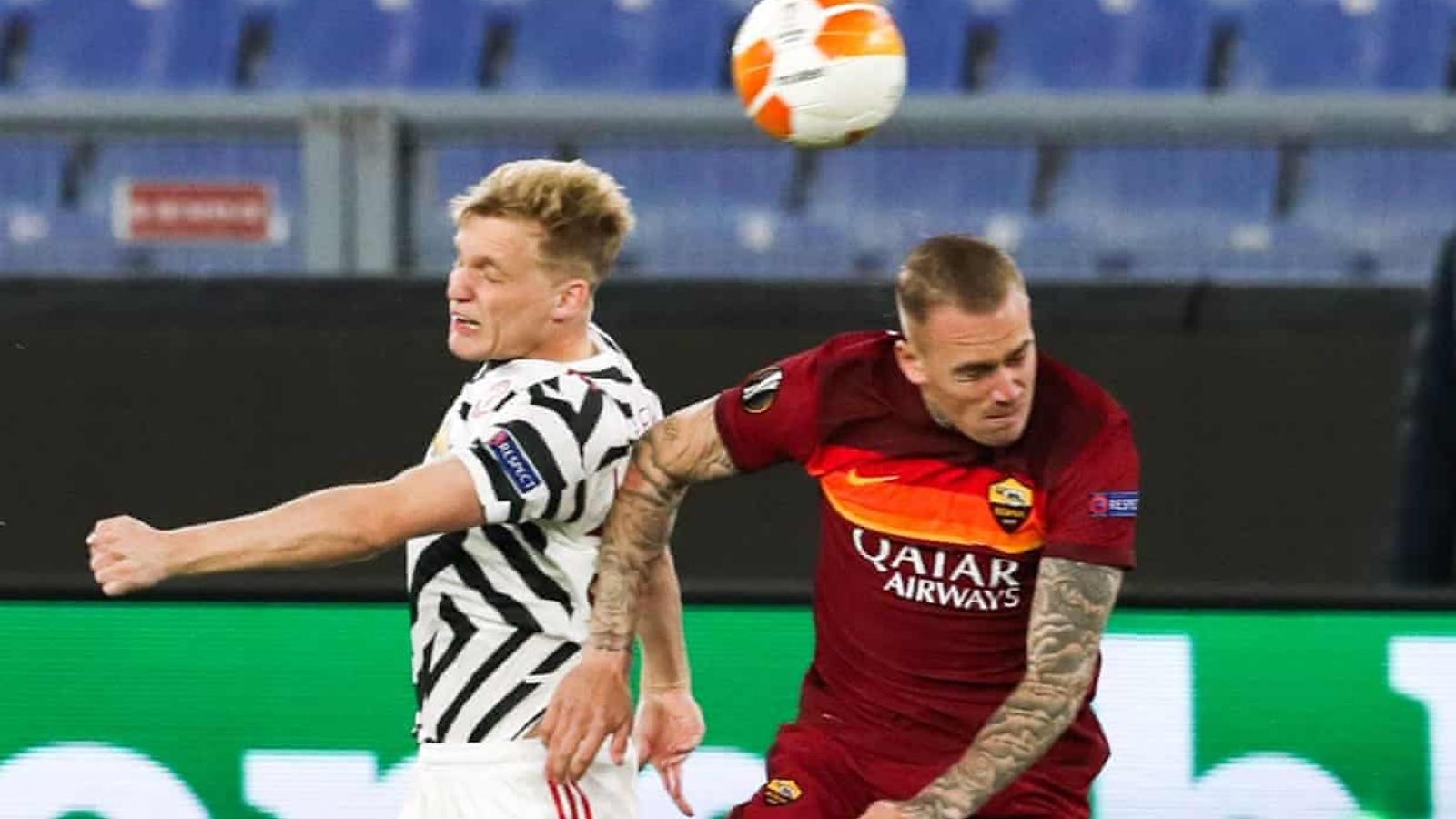 TRỰC TIẾP AS Roma 0-0 MU: De Gea liên tiếp cứu thua cho Quỷ đỏ