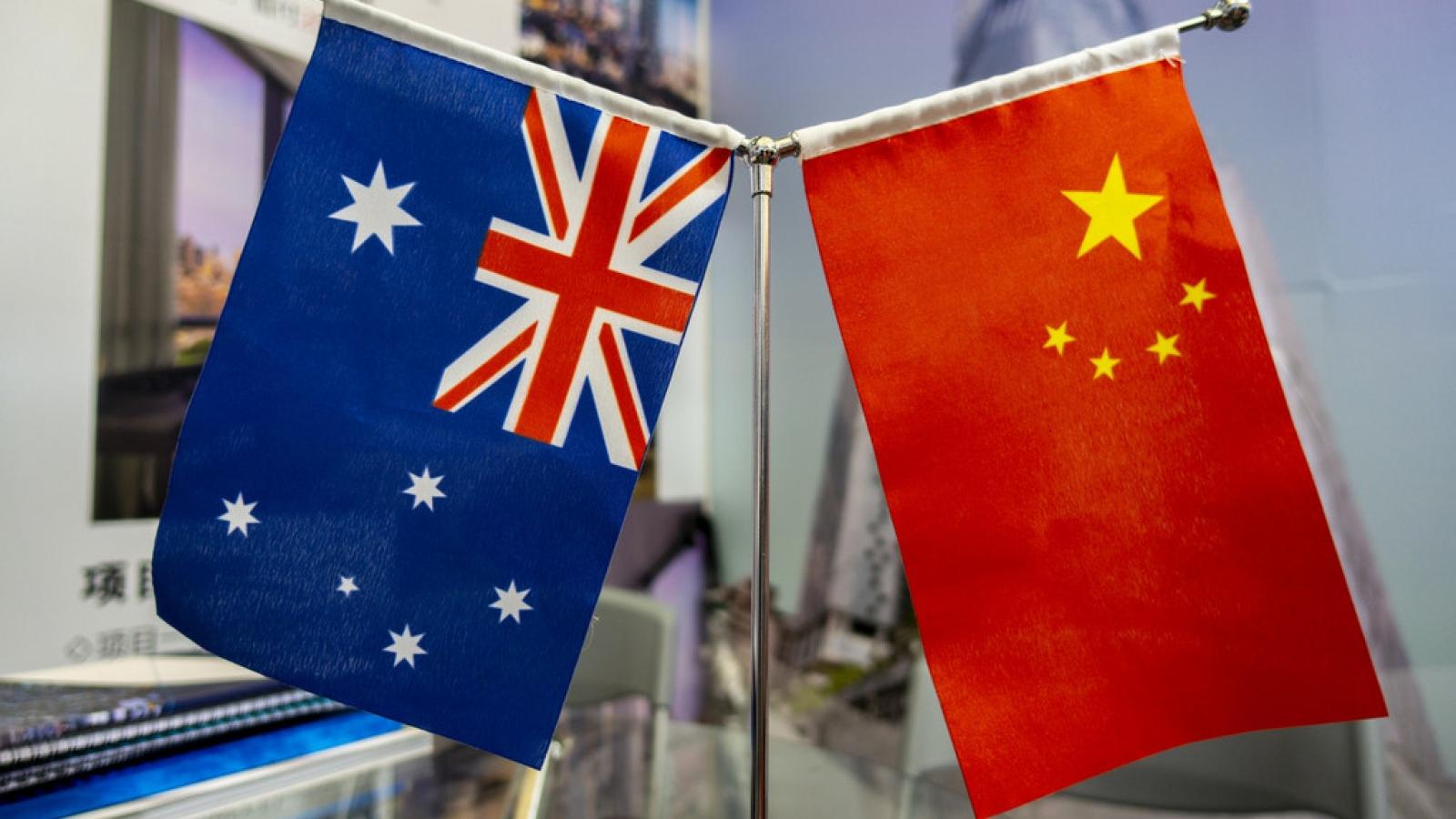 """Nguy cơ quan hệ Trung Quốc-Australia sẽ """"chạm đáy""""?"""