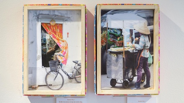 French artists tell Vietnamese stories through boxes of artworks